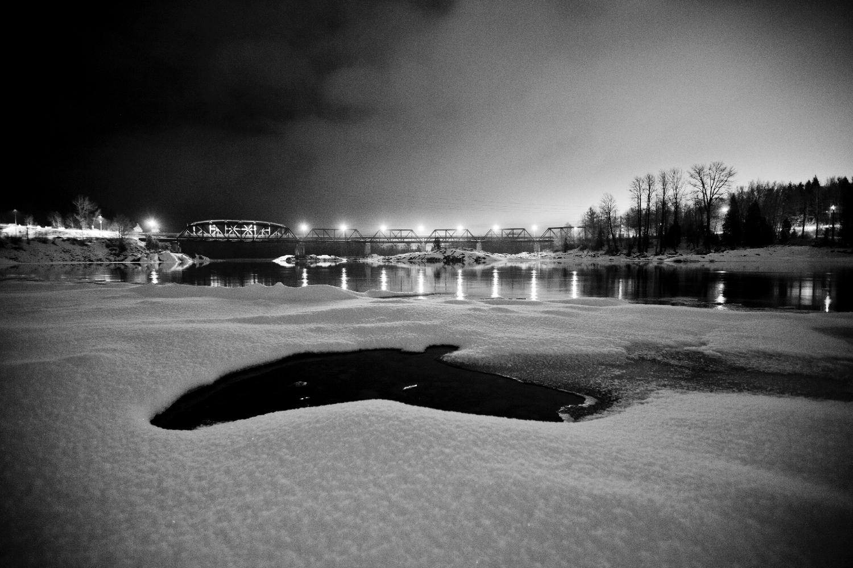 The Old Skeena River Bridge, Terrace, BC.