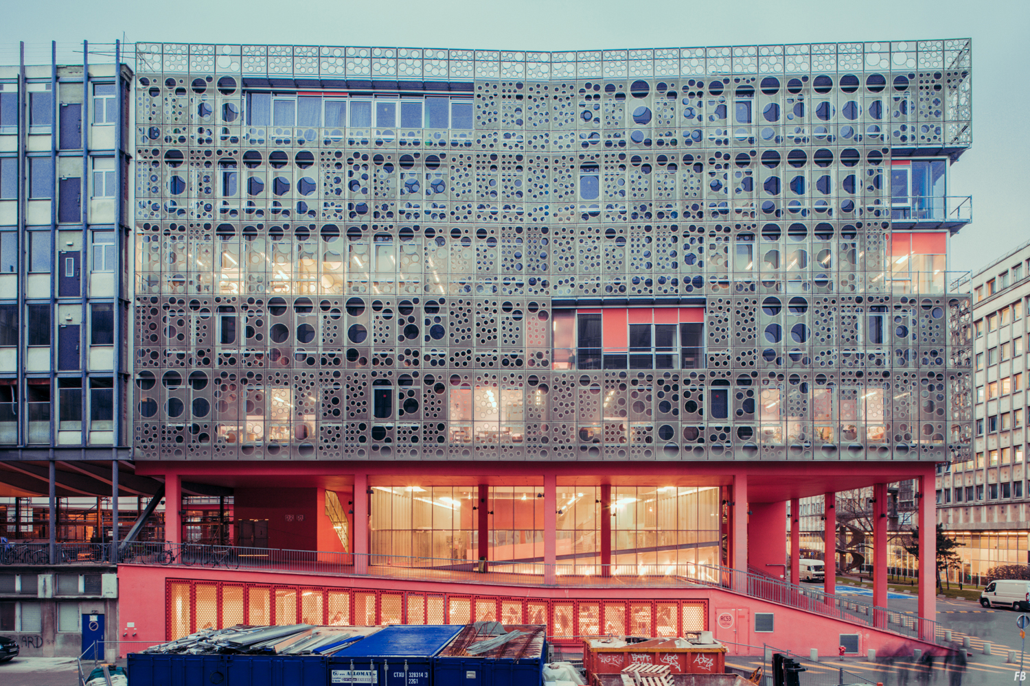 Photography & Architecture: Atrium of Jussieu, 2011