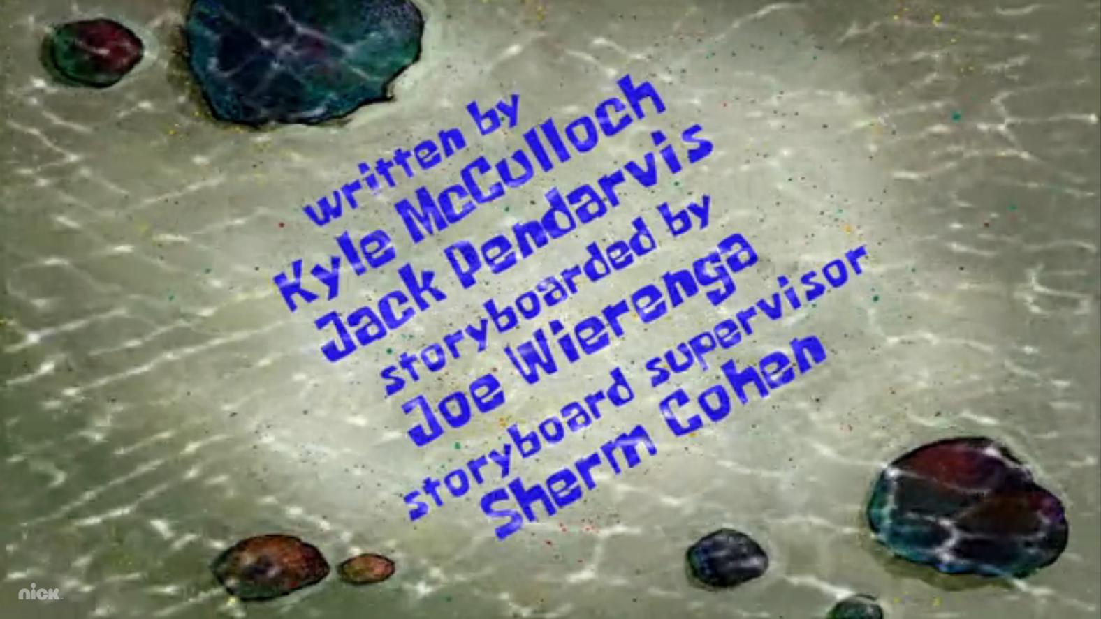 storyboard spongebob episode