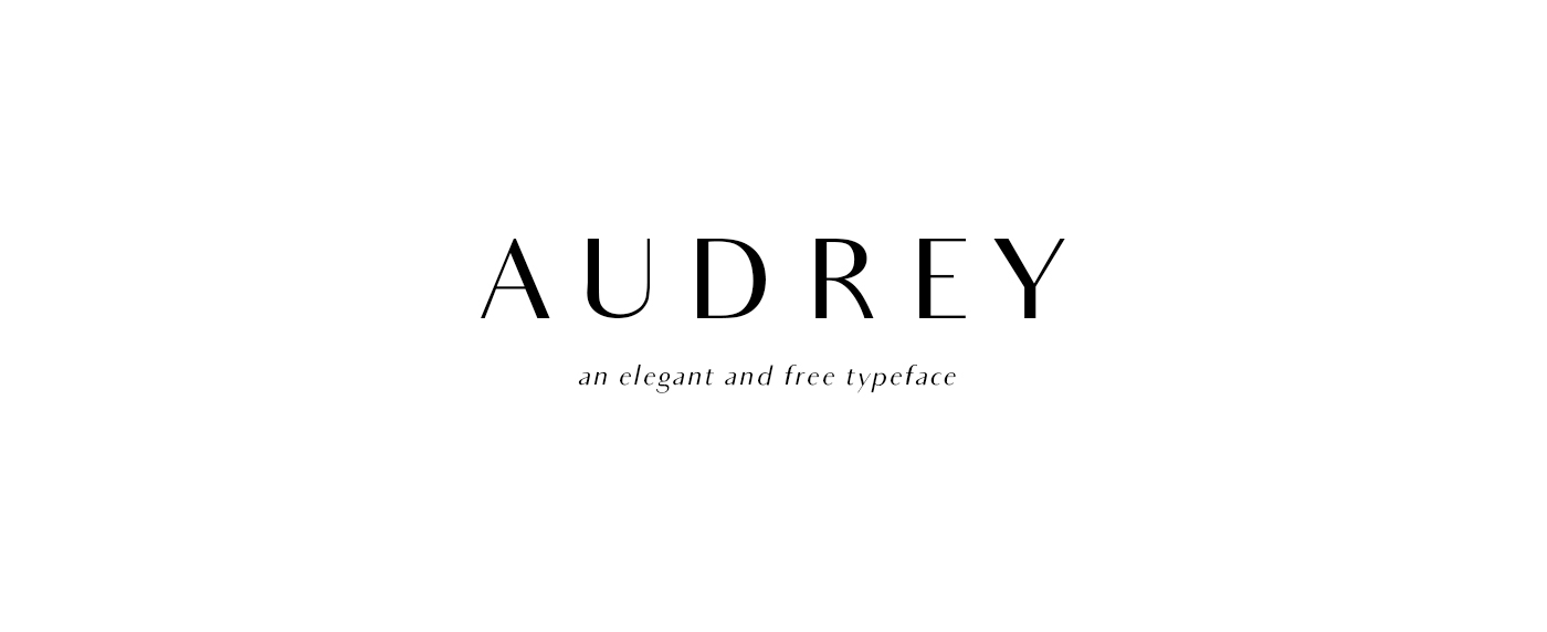 Audrey | FREE FONT on Behance