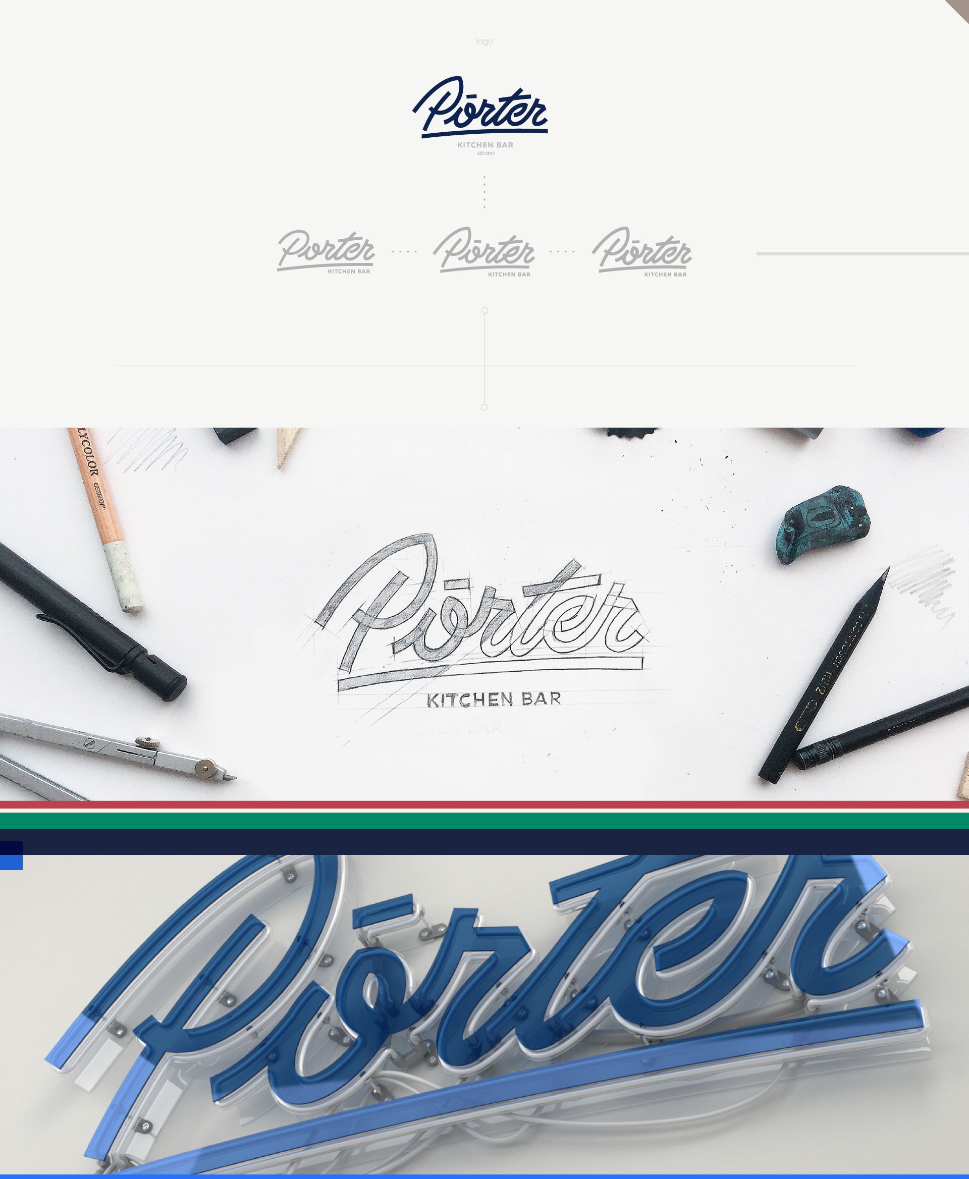 Branding: Porter the Kitchen Bar