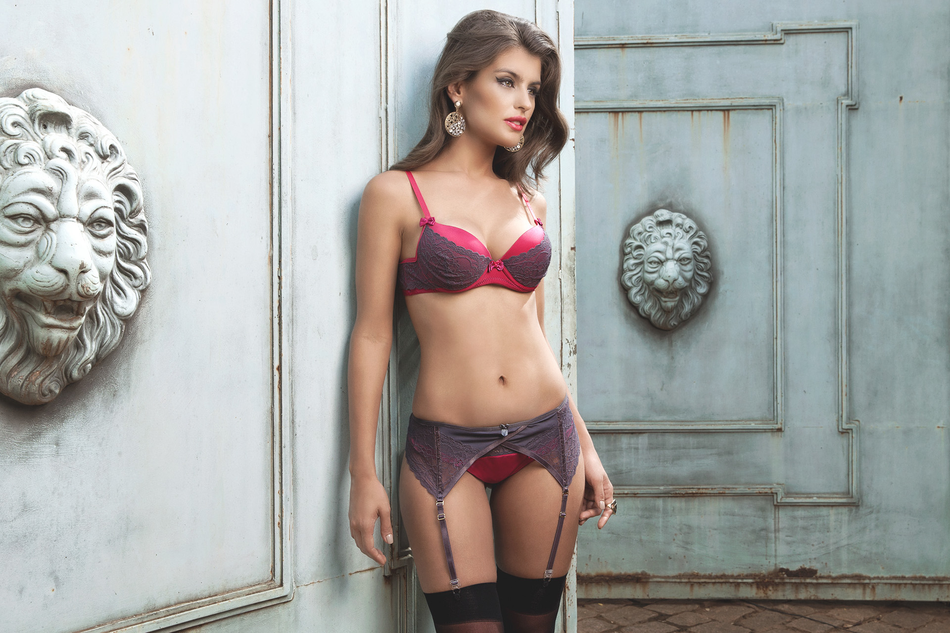 d000fa172 Winter 2015 Intima Passion lingerie on Behance