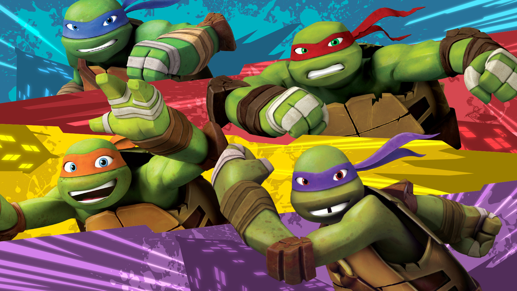 Teenage Mutant Ninja Turtles Style Guide 2015 on Behance