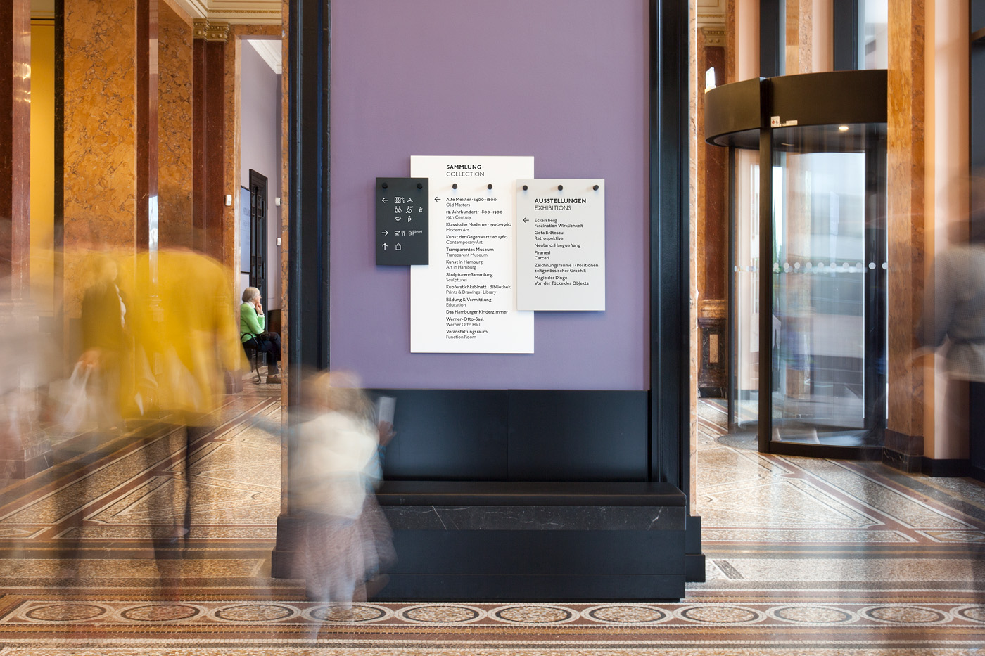Hamburger Kunsthalle Corporate Identity On Behance
