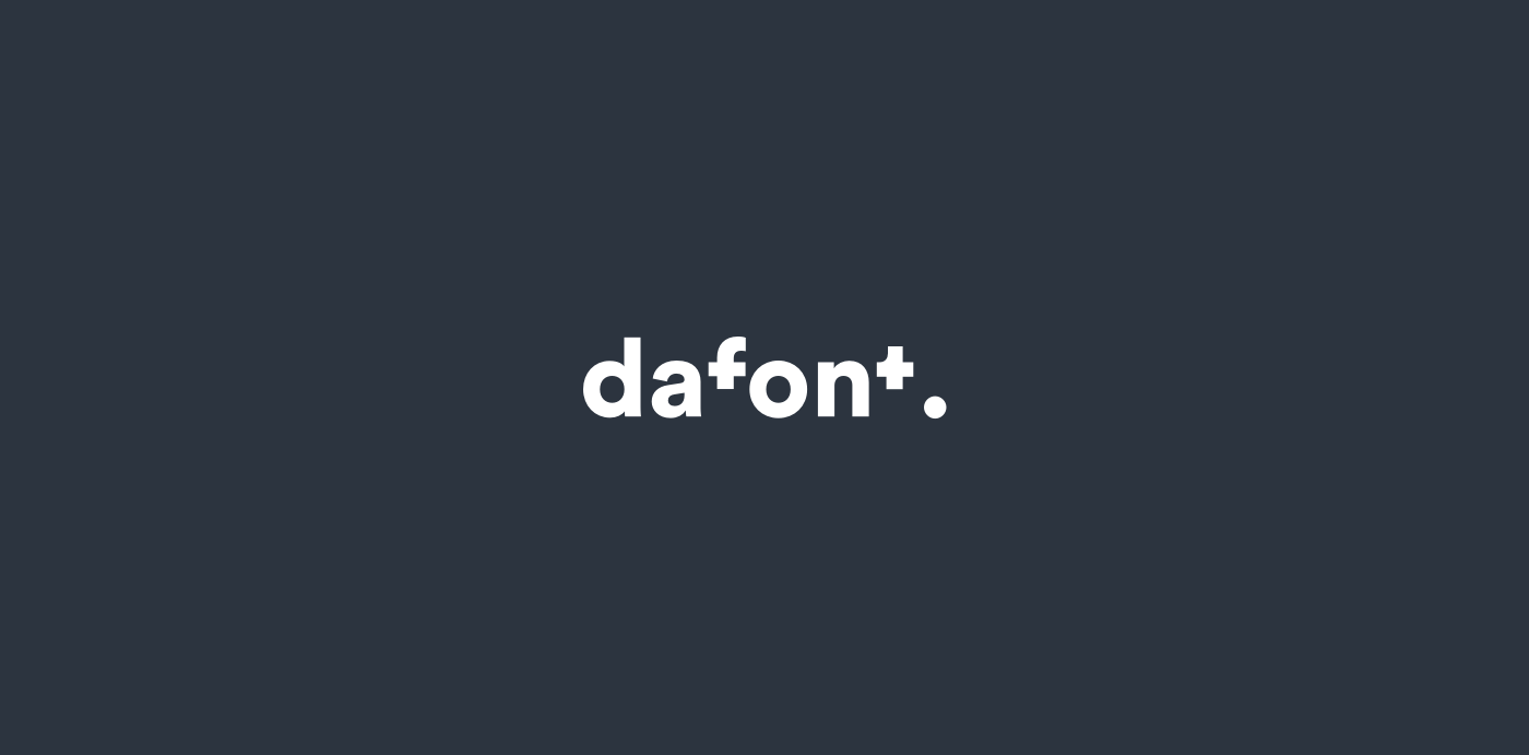 Dafont Rebranding on Behance
