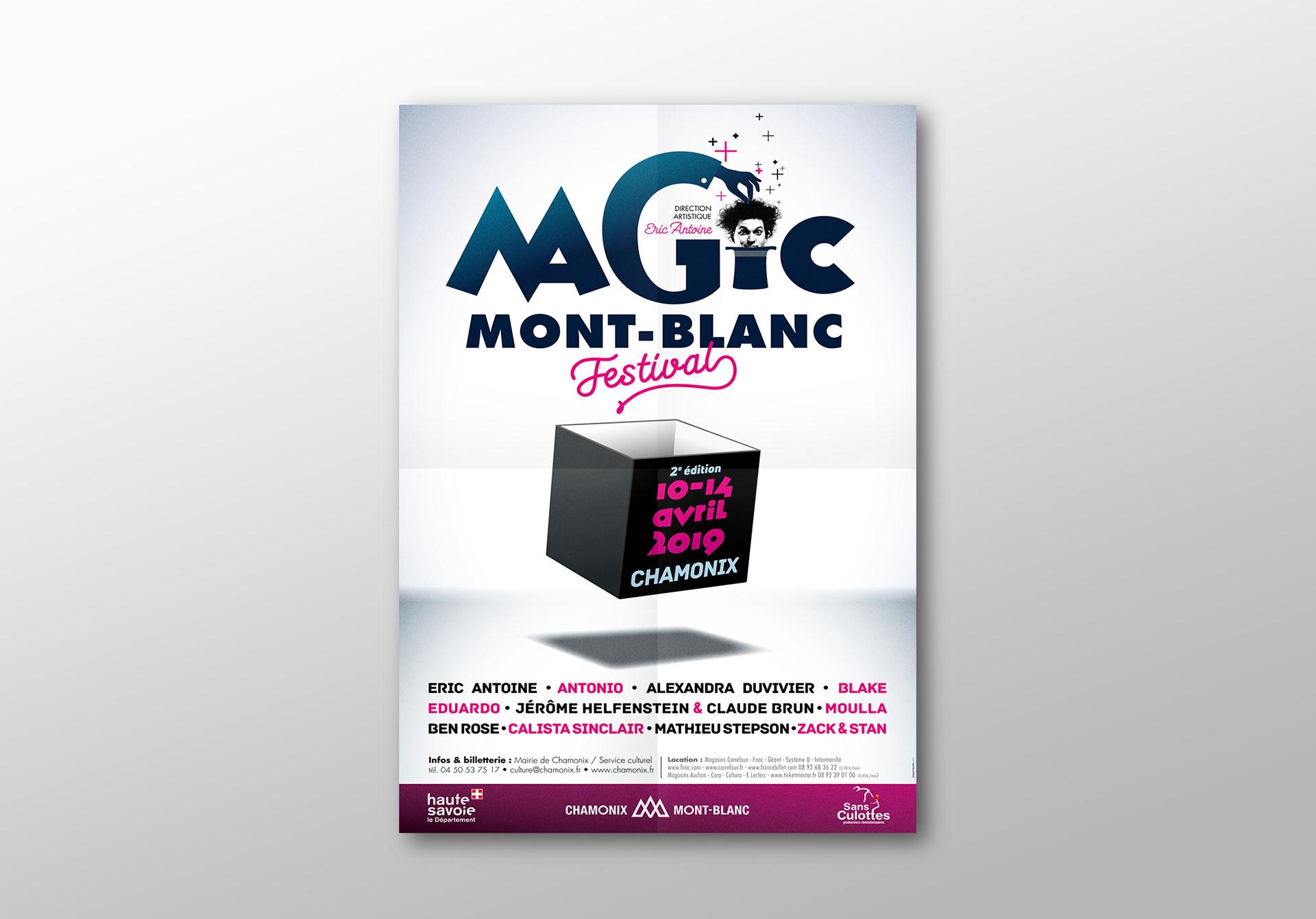 Chamonix Magic Mont Blanc Festival Visual Identity On Behance