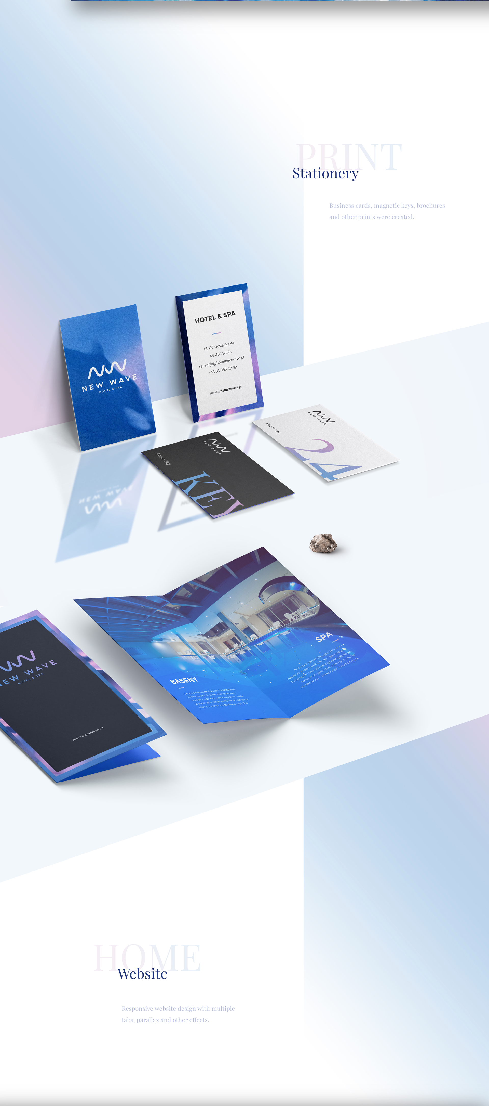 Web Design & UI/UX: New Wave Hotel & Spa