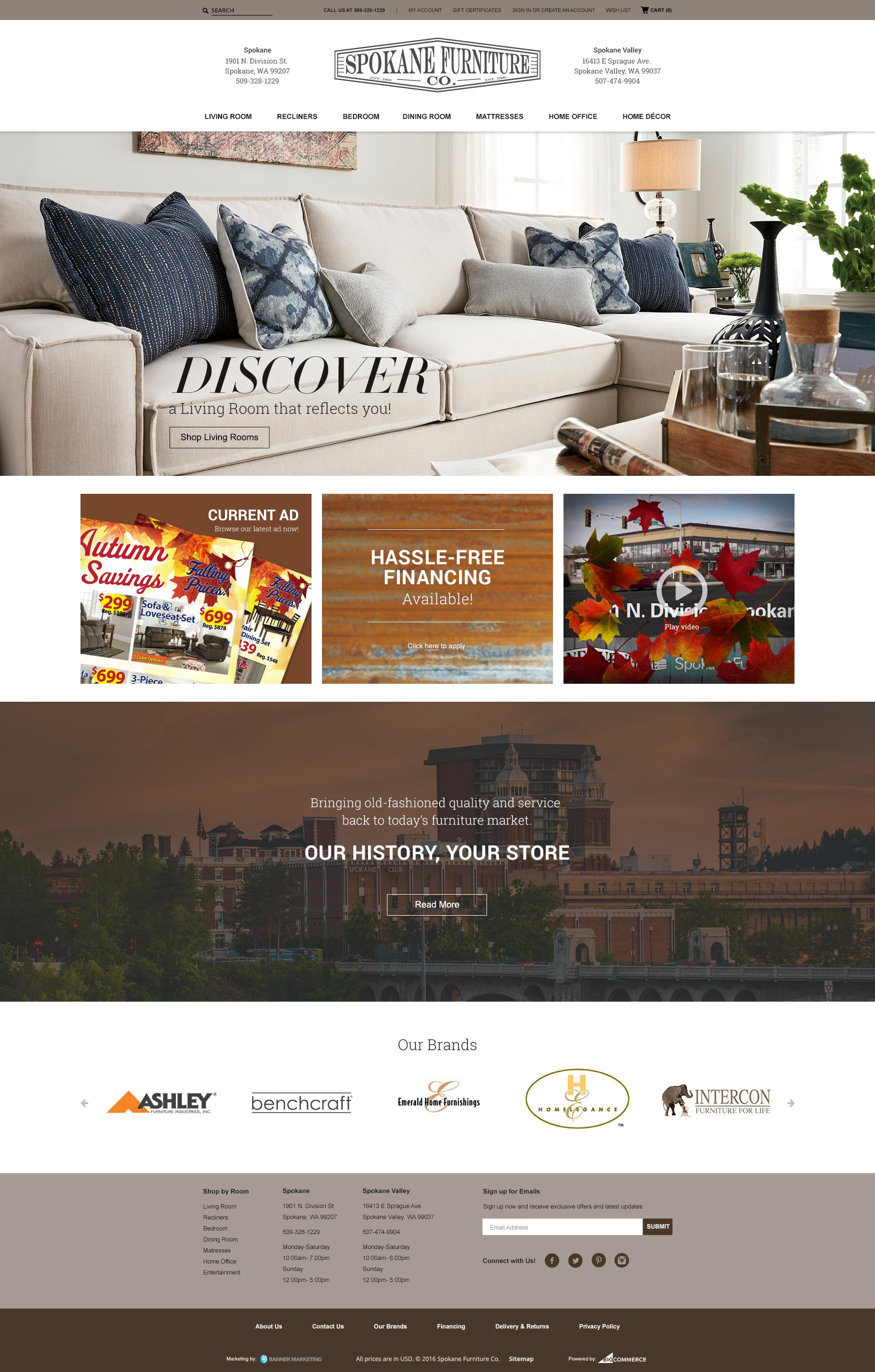 Elegant Spokane Furniture Co. On Behance