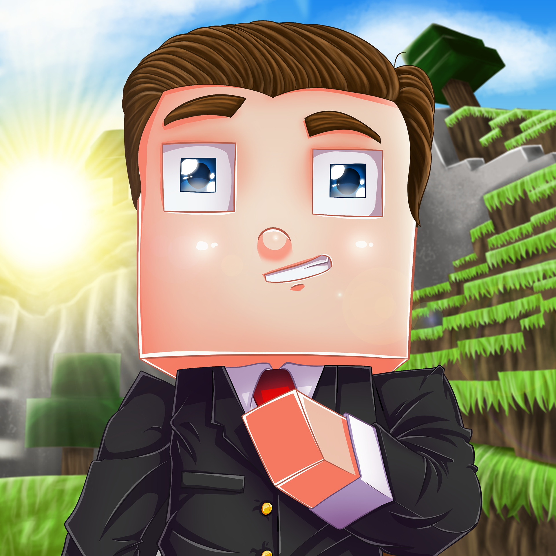 аватарка майнкрафт 250 пикселей в шерину #1