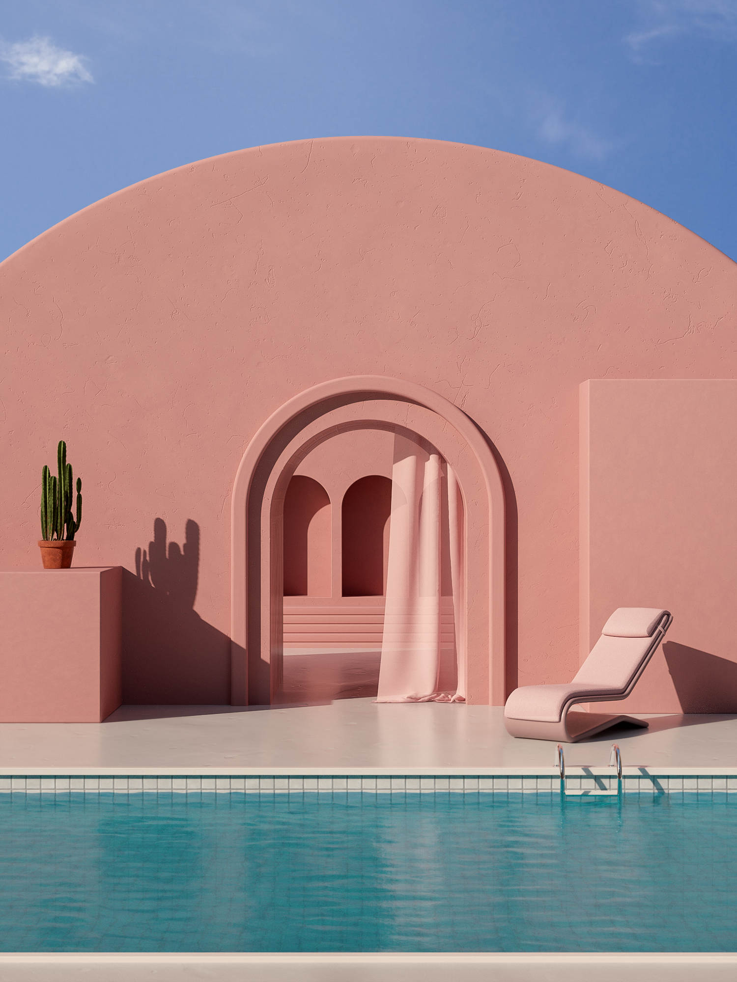 Dreamy & Surreal 'Summer in Spain' Illustrations