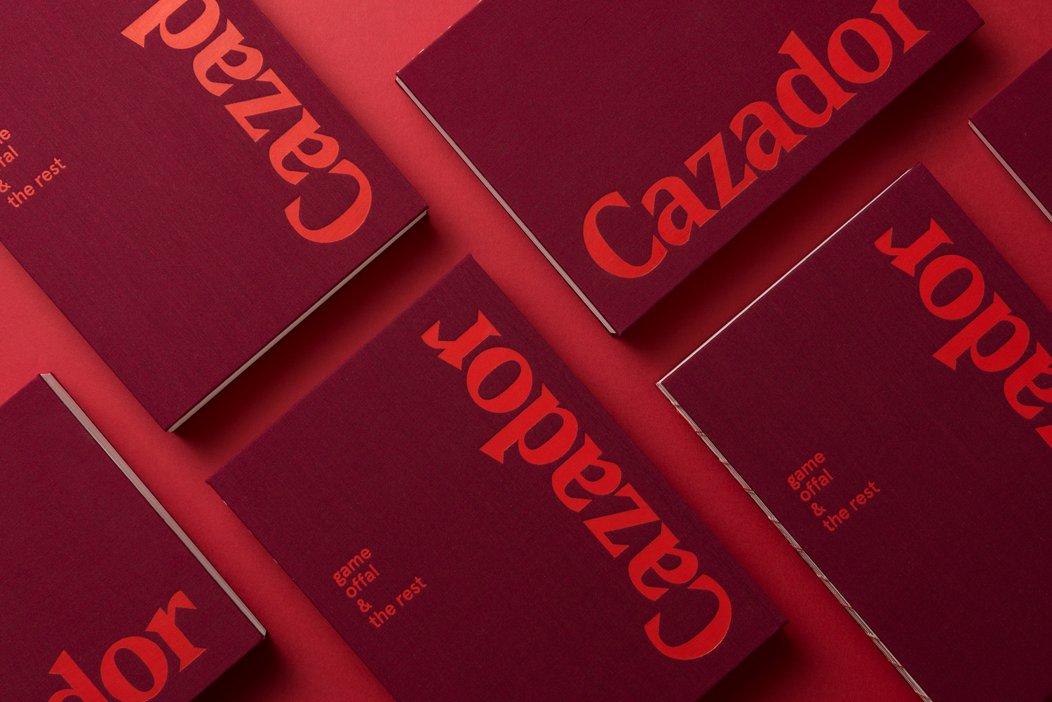 Editorial Design: Cazador Cookbook by Tim Donaldson