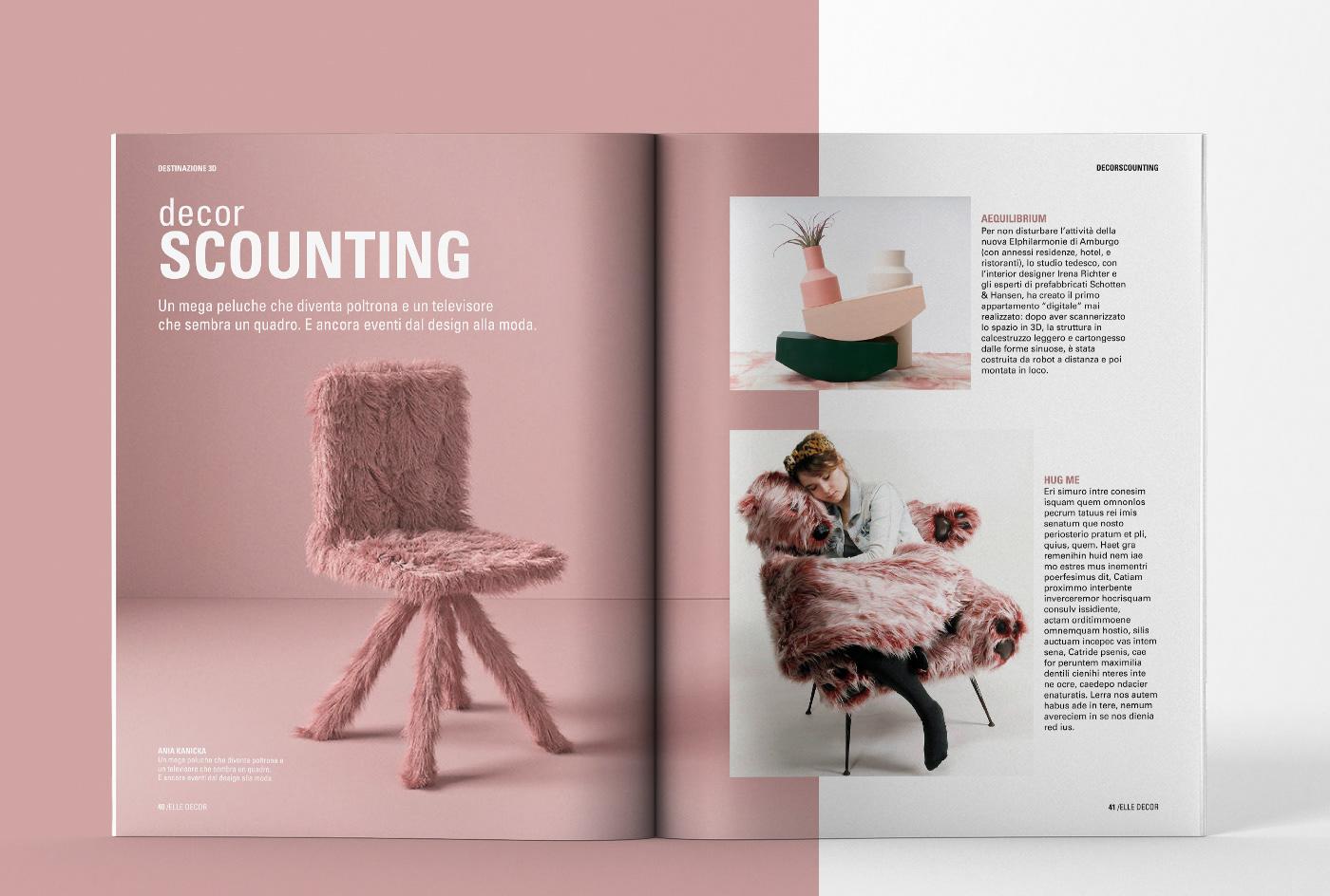 Elle Decor Interior Designers elle decor | magazine restyling on behance