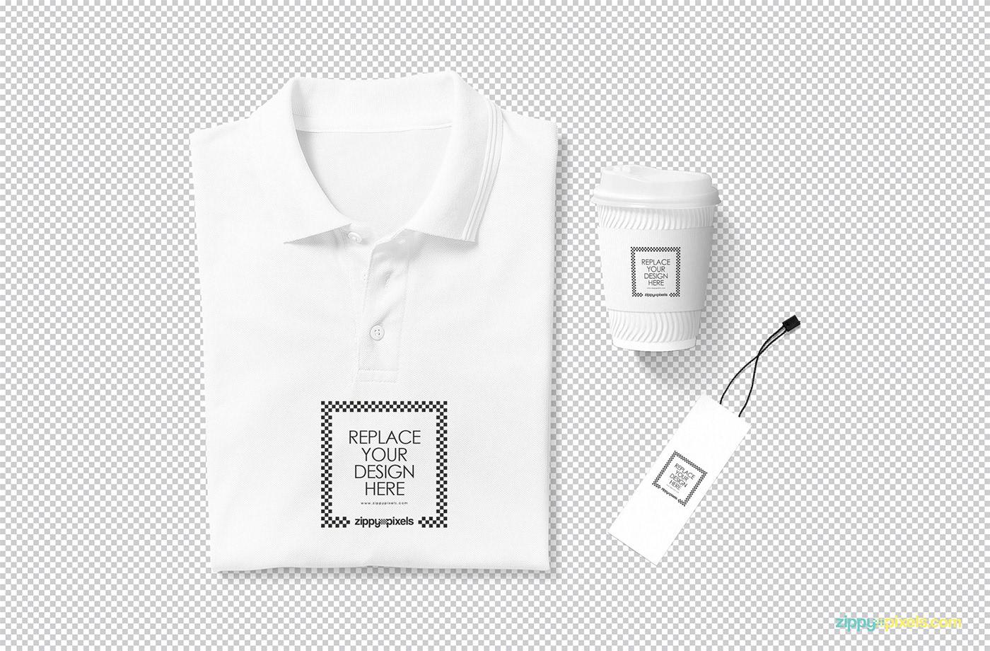 Free Modern Polo T Shirt Mockup On Behance