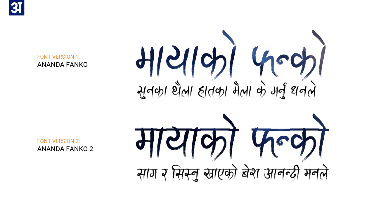 Ananda Fanko Devanagari Handwriting FREE FONT on Behance