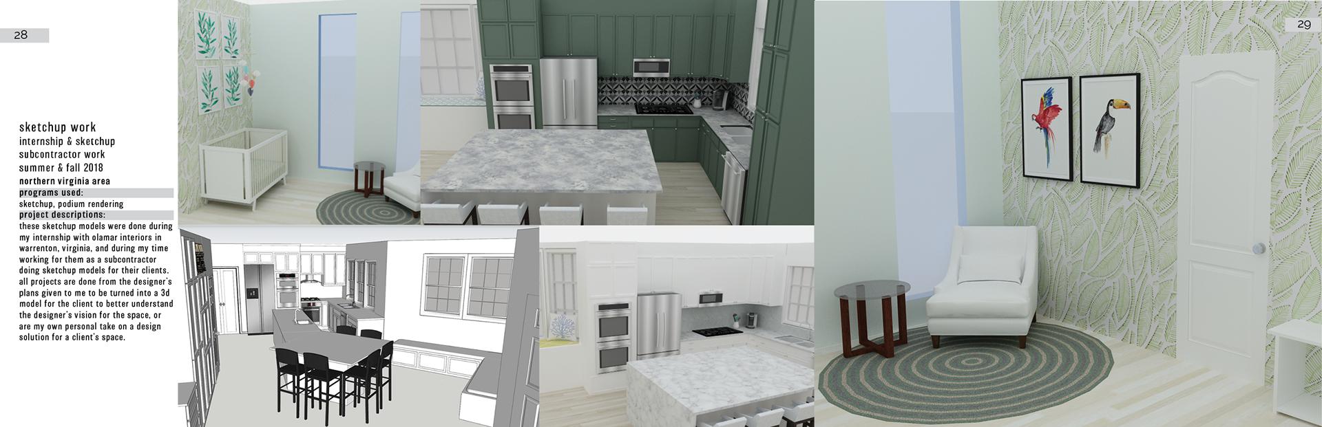 Interior Design Student Portfolio On Behance