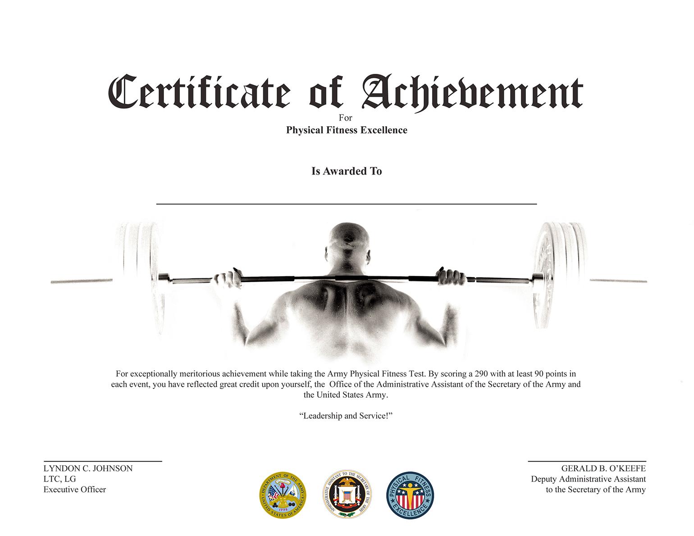 Chris Rosario Certificate Of Achievement