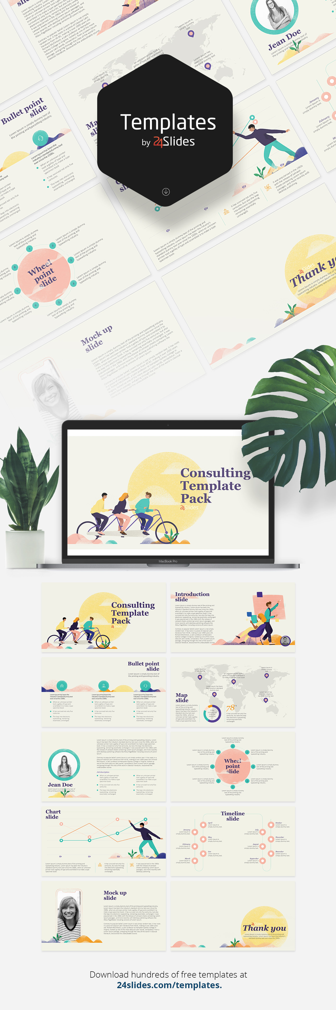 Soft Consulting Template Pack Free Download On Behance