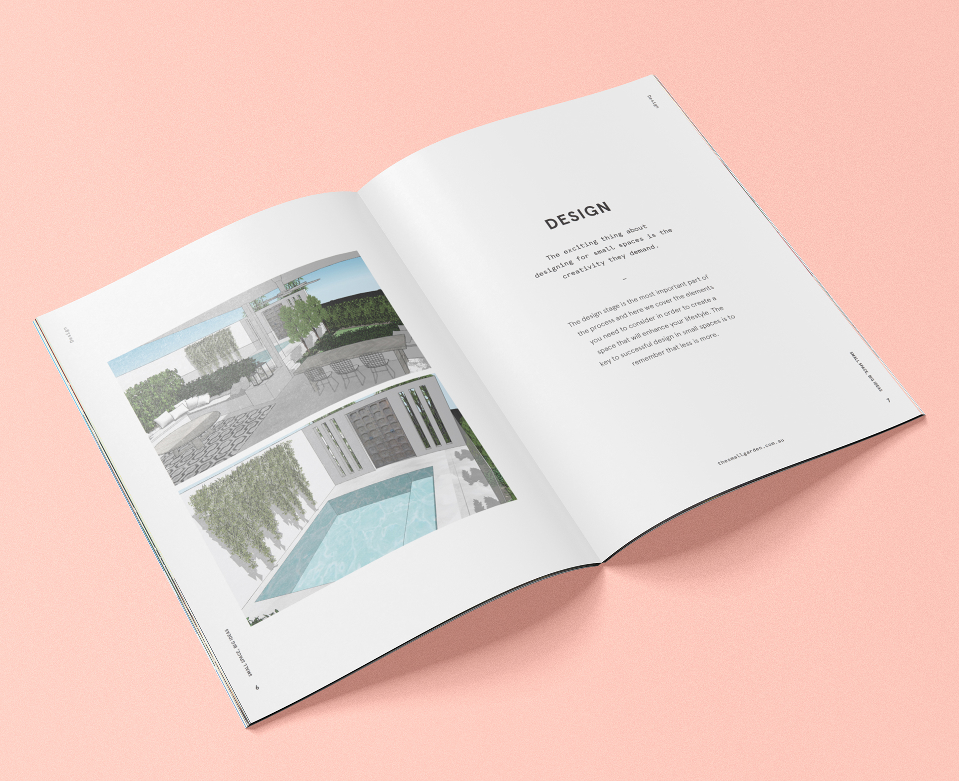 Small Spaces Big Ideas Ebook On Behance