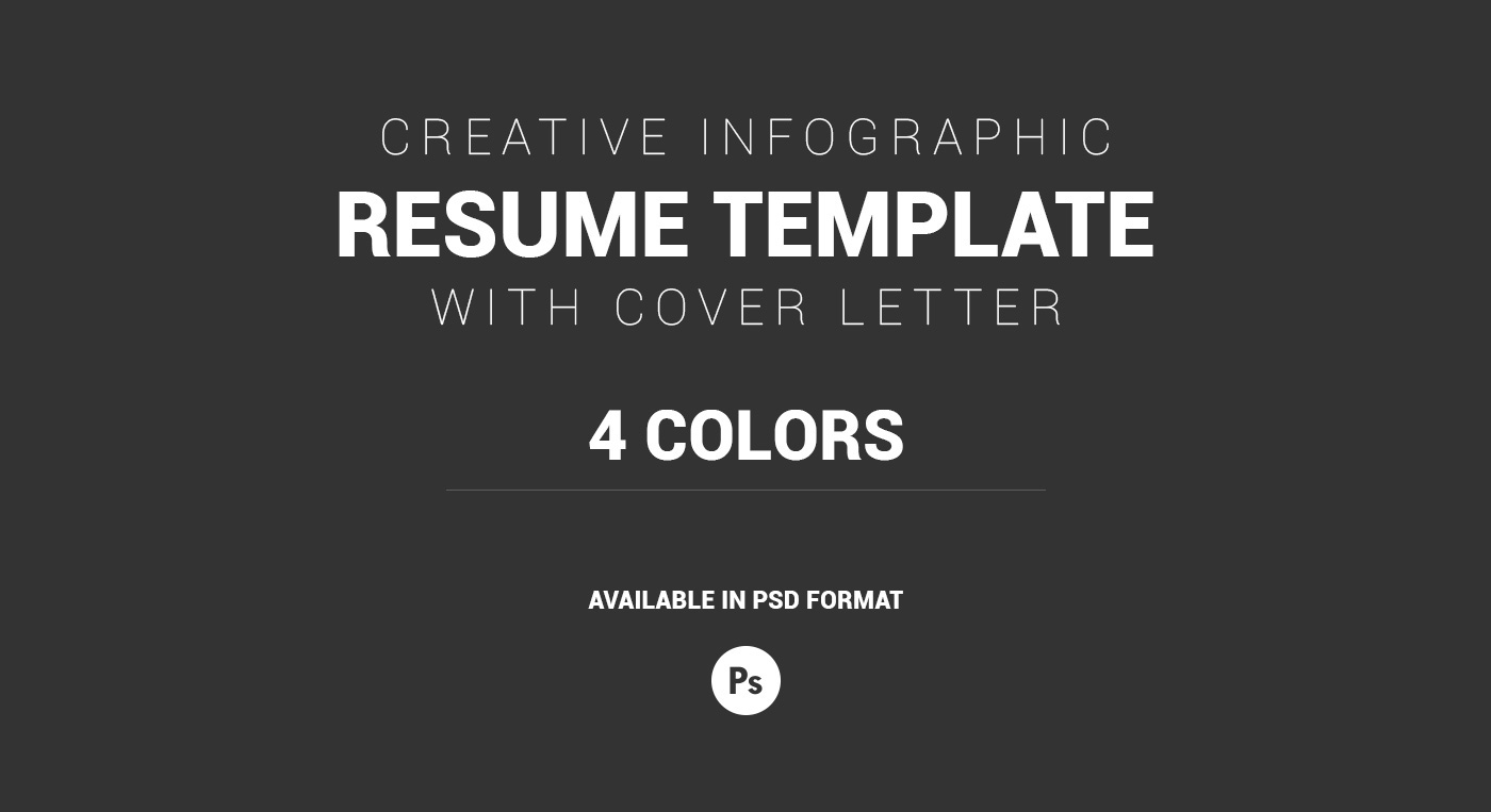 Creative infographic resume template cover letter on behance click here to download this creative infographic resume template cover letter in psd format madrichimfo Images