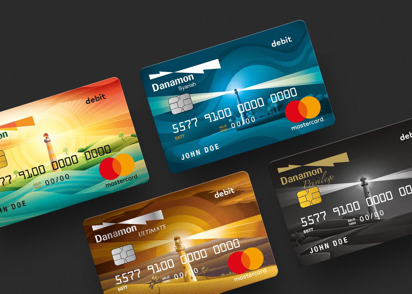 Danamon Debit Card On Behance