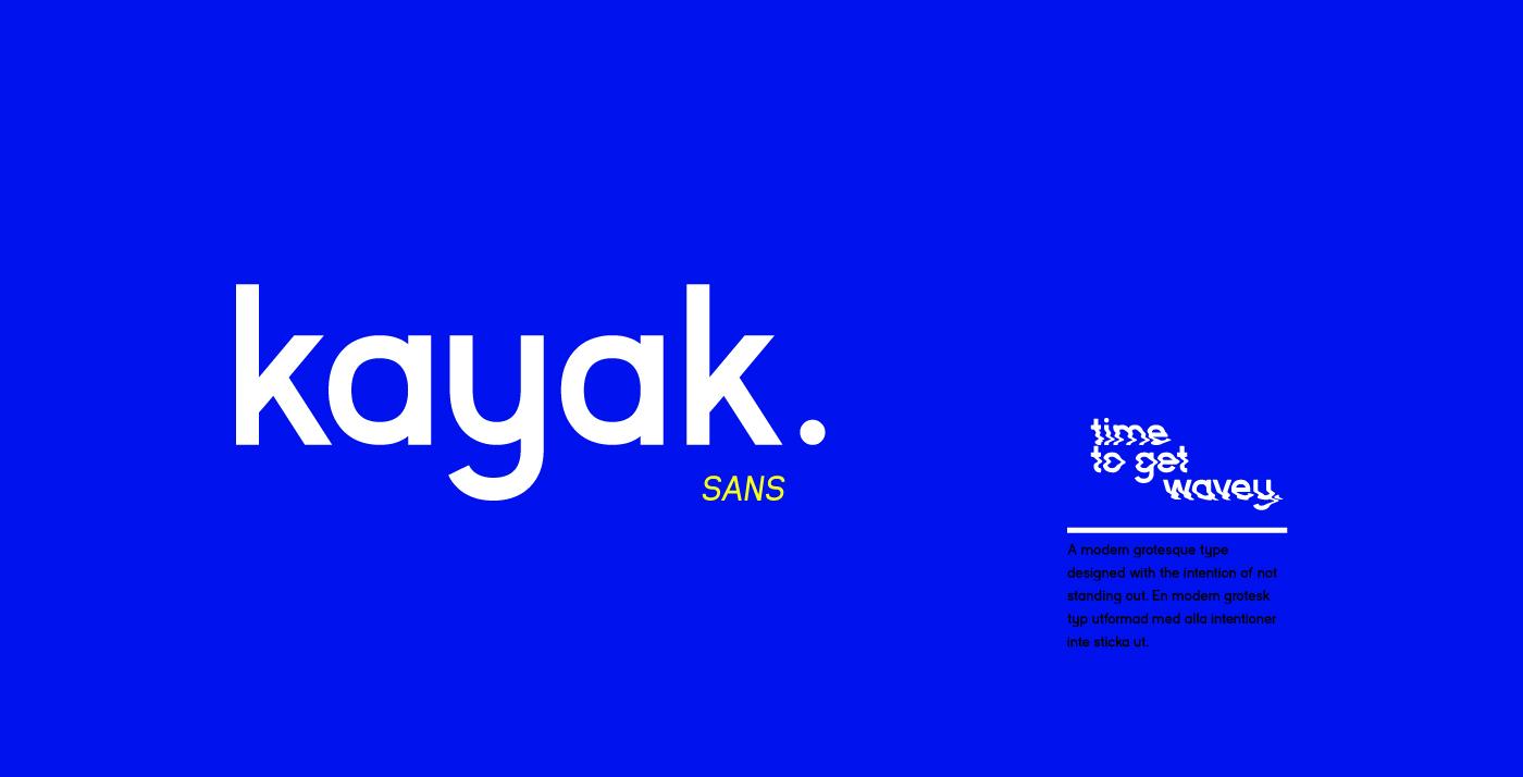Kayak Sans - Free Typeface on Behance