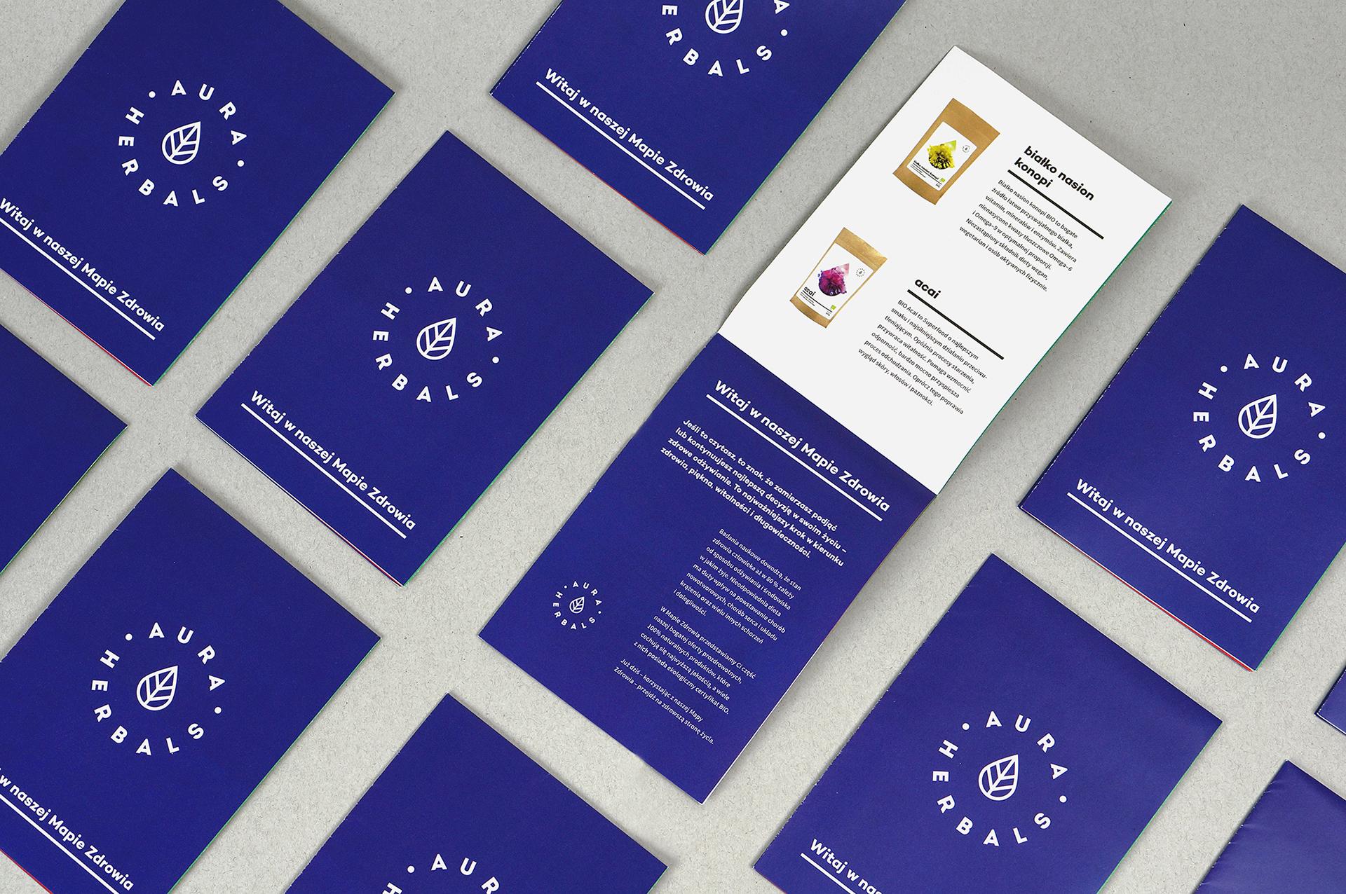 Aura Herbals Rebranding On Behance
