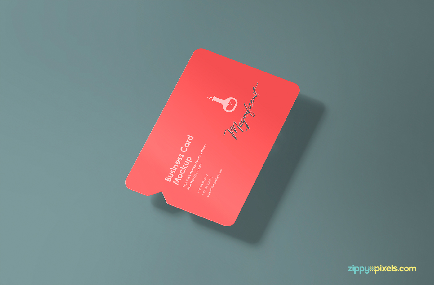 Free creative business card mockup on behance reheart Gallery