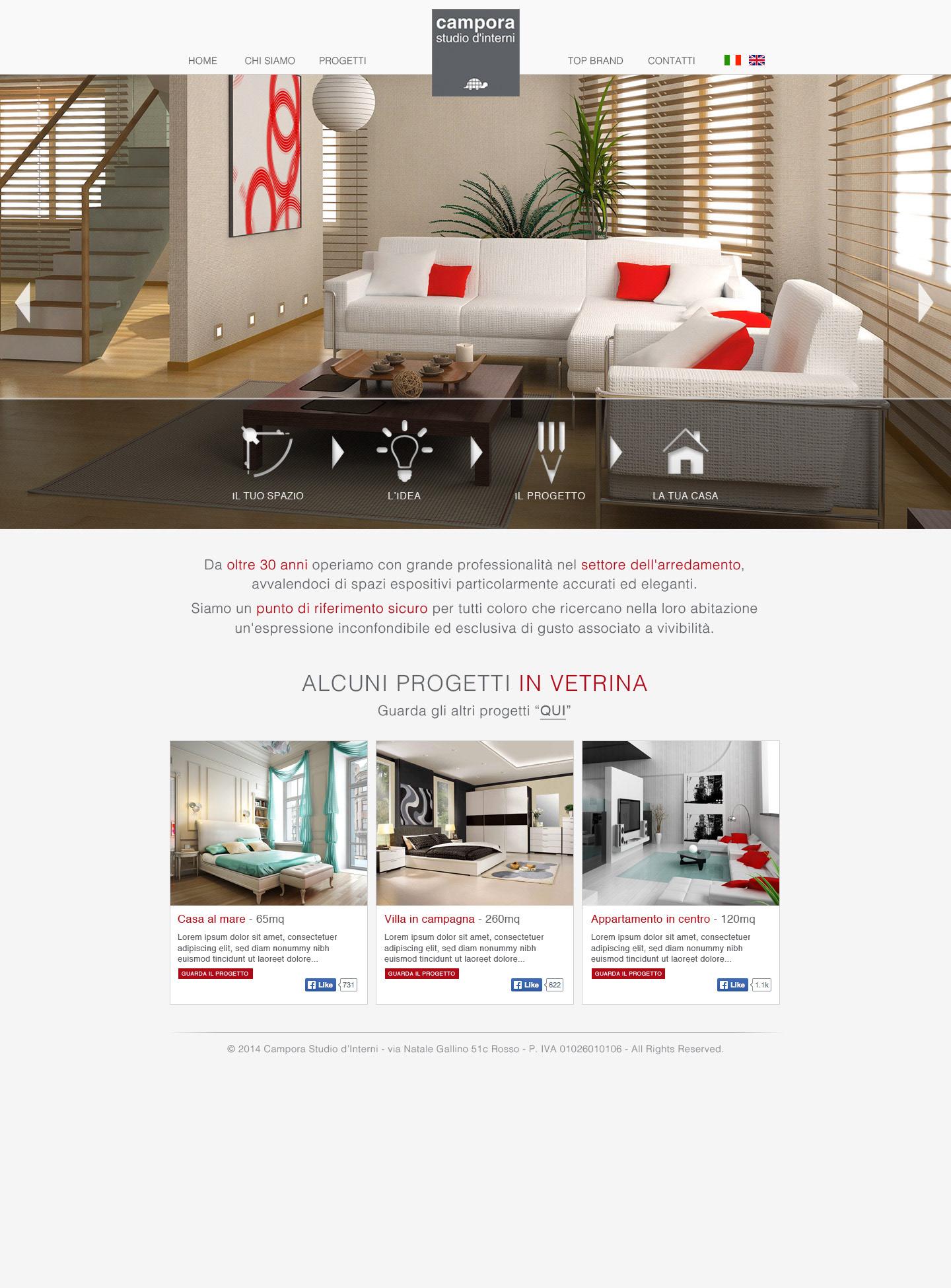 Arredare Casa 65 Mq immobiliare on behance