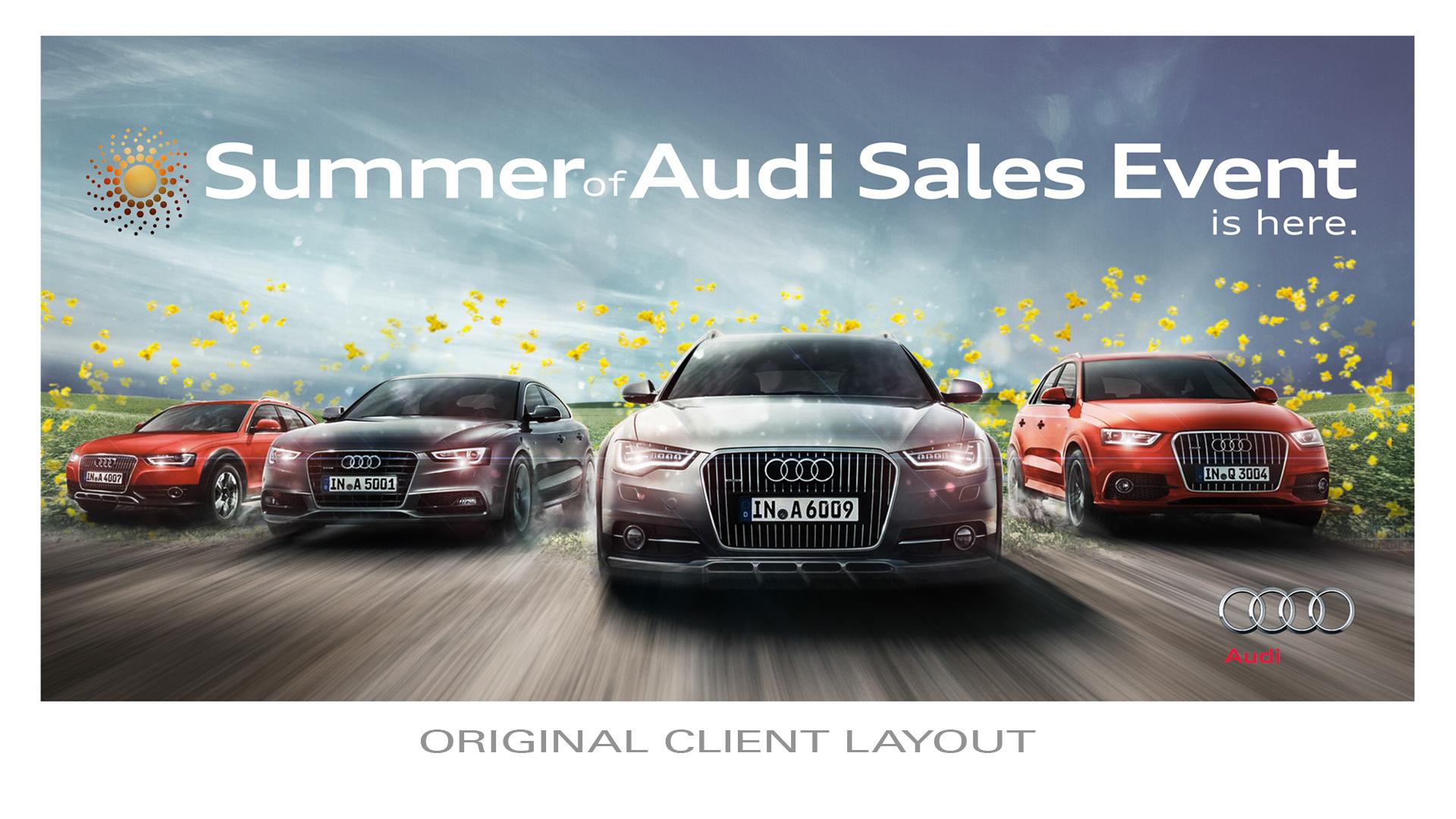 magazine by sales car audi event