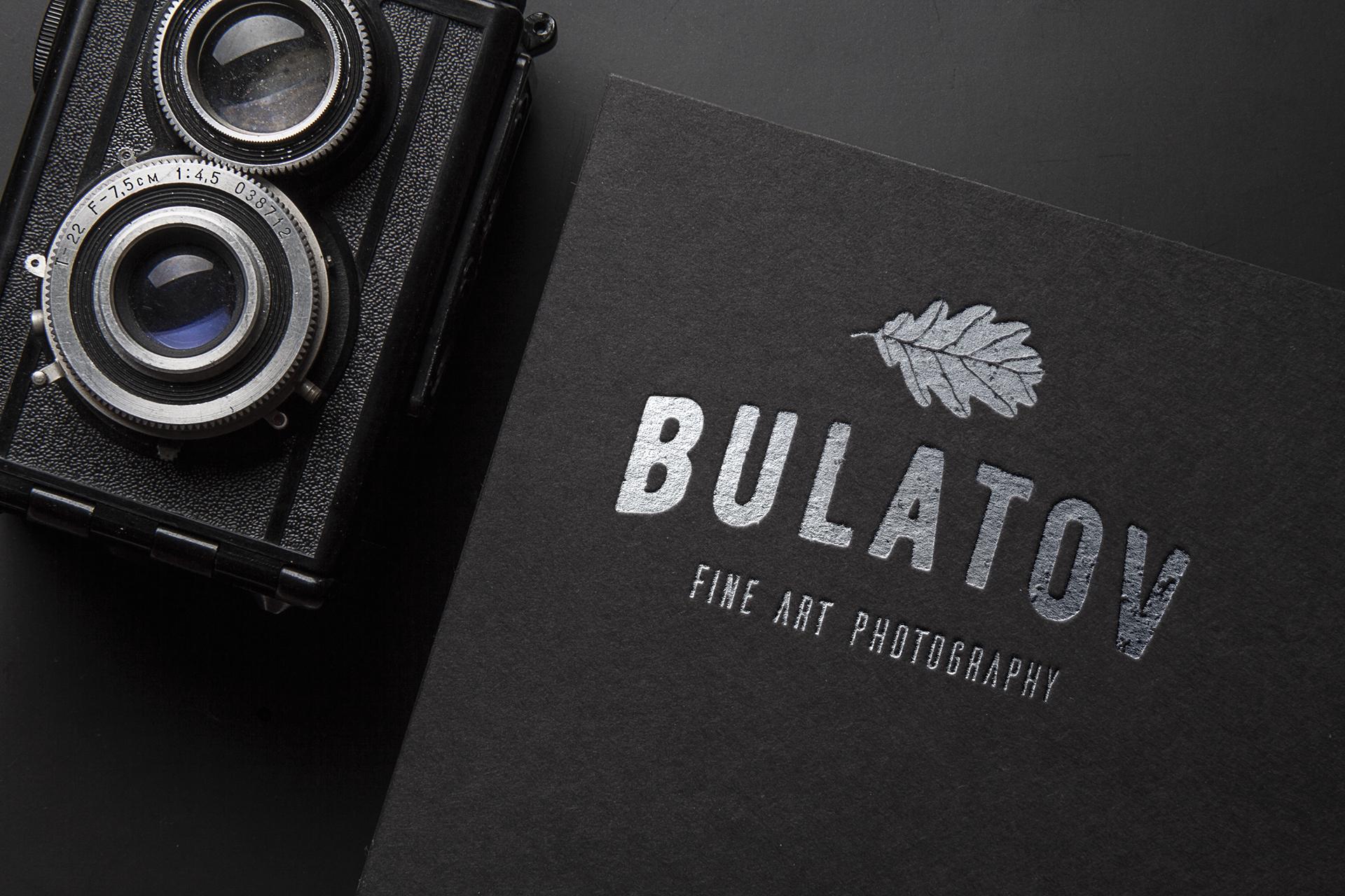 Логотип фотографа на фотографии