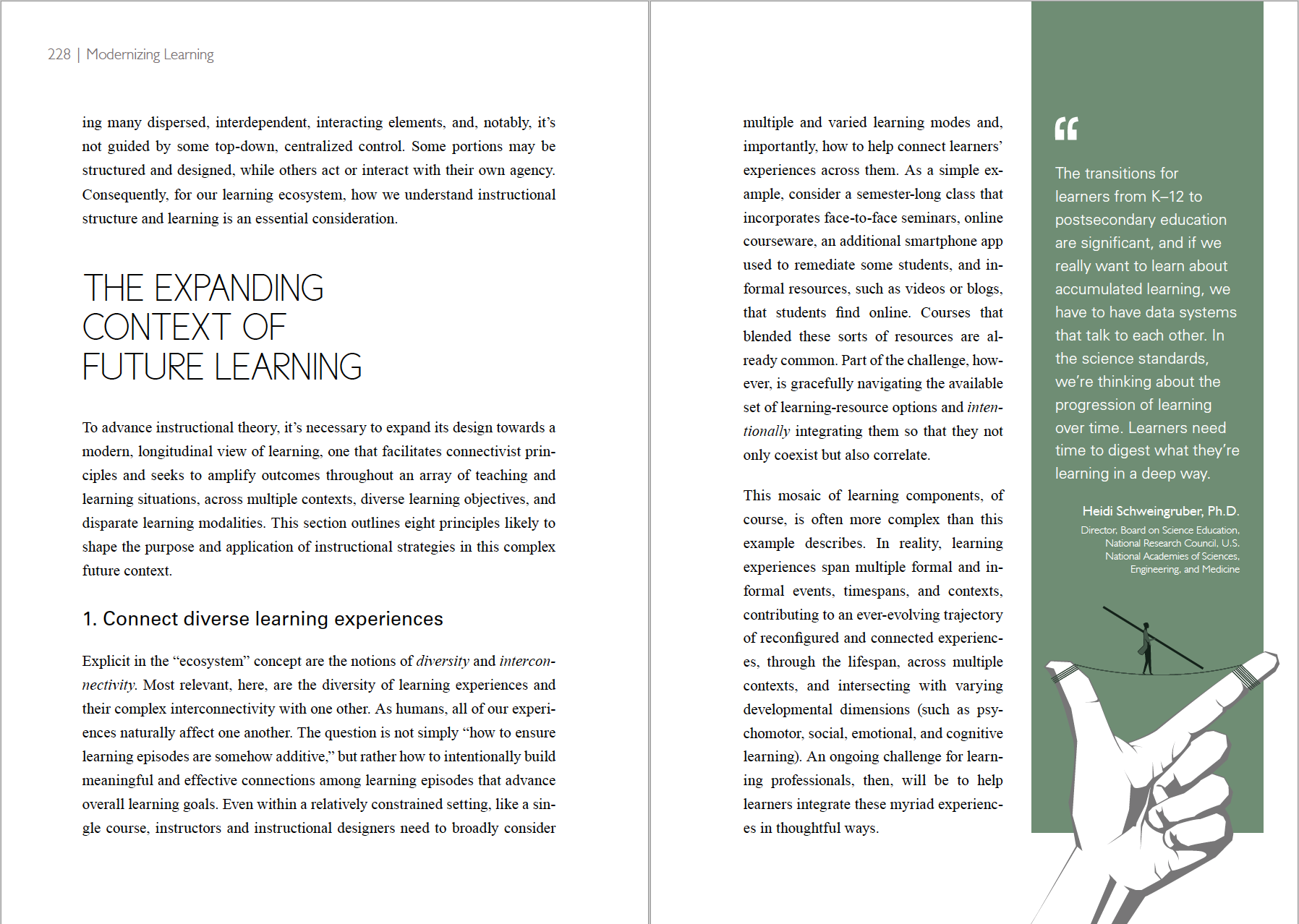 Modernizing Learning Book on Behance