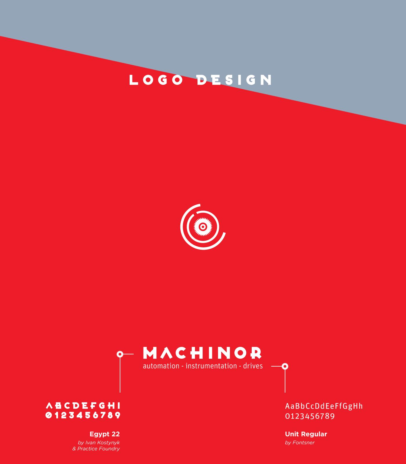 Machinor S A △ Branding on Behance
