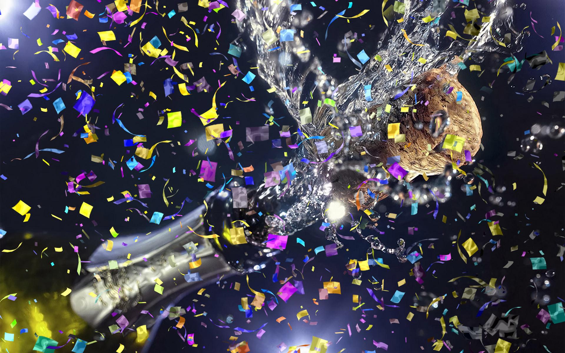 Gif Animated Confetti Glitter Effect Photoshop Action on Behance