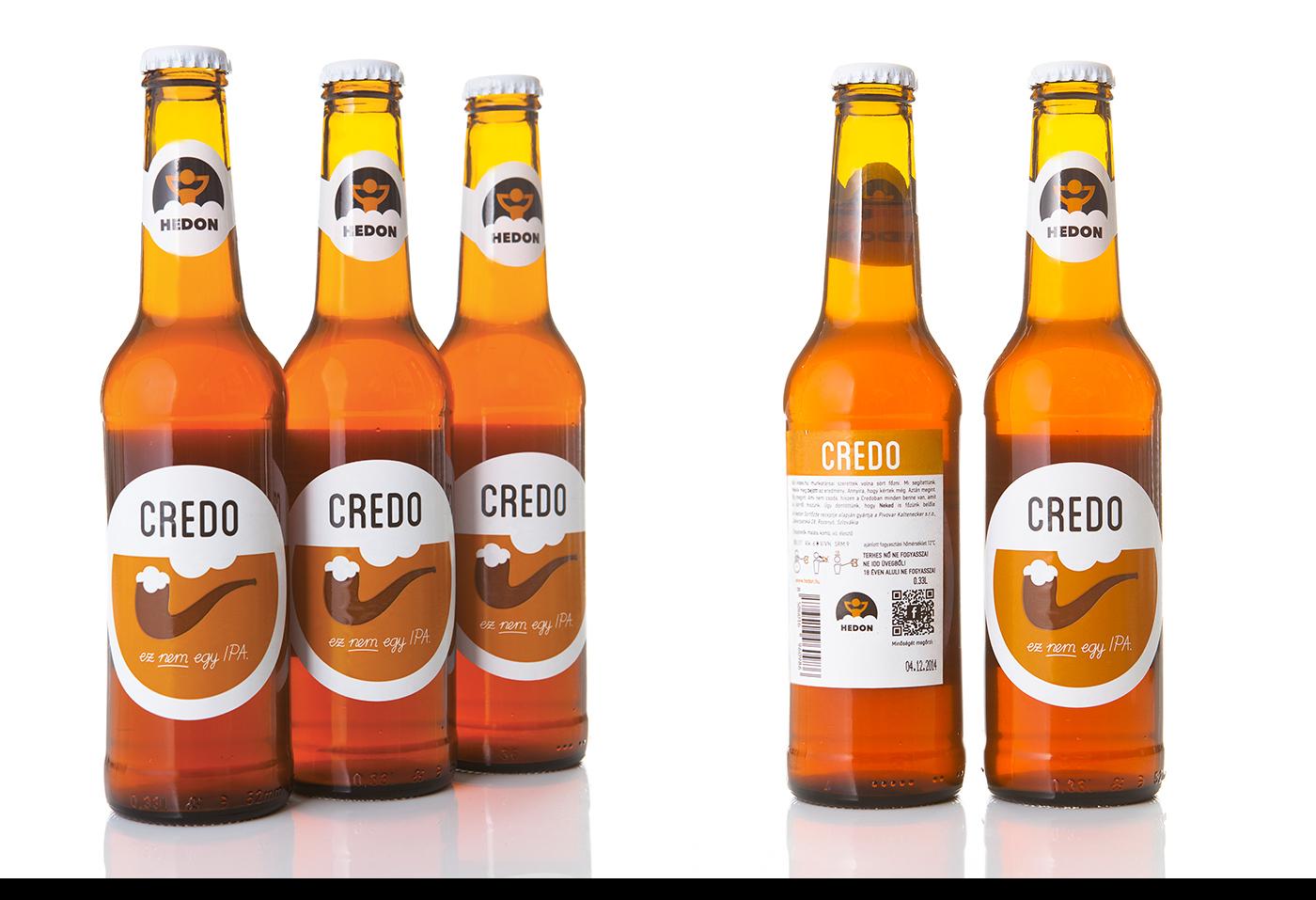 HEDON craft beer identity 2014-2017 on Behance