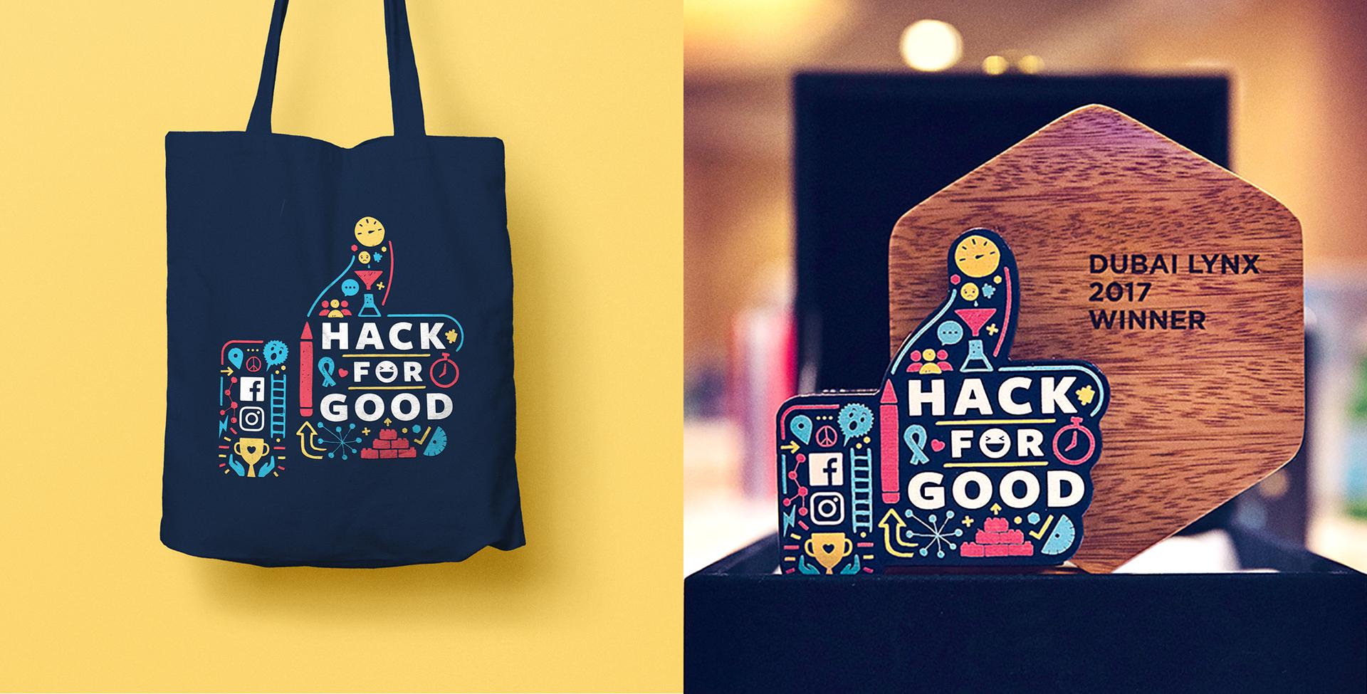 Facebook: Hack for Good on Behance