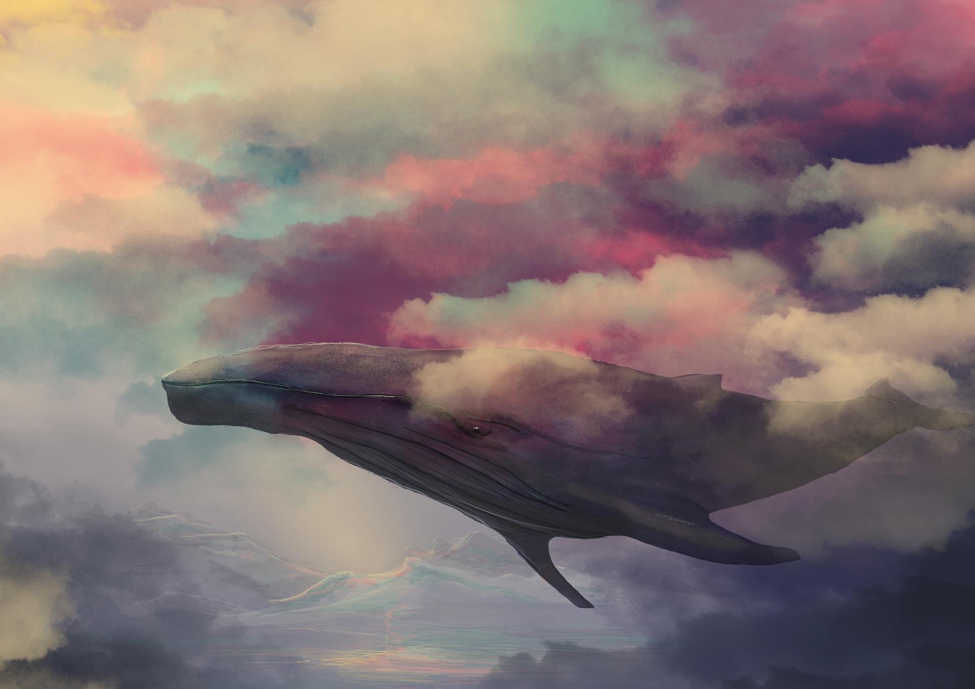 Картинки фэнтези с китами