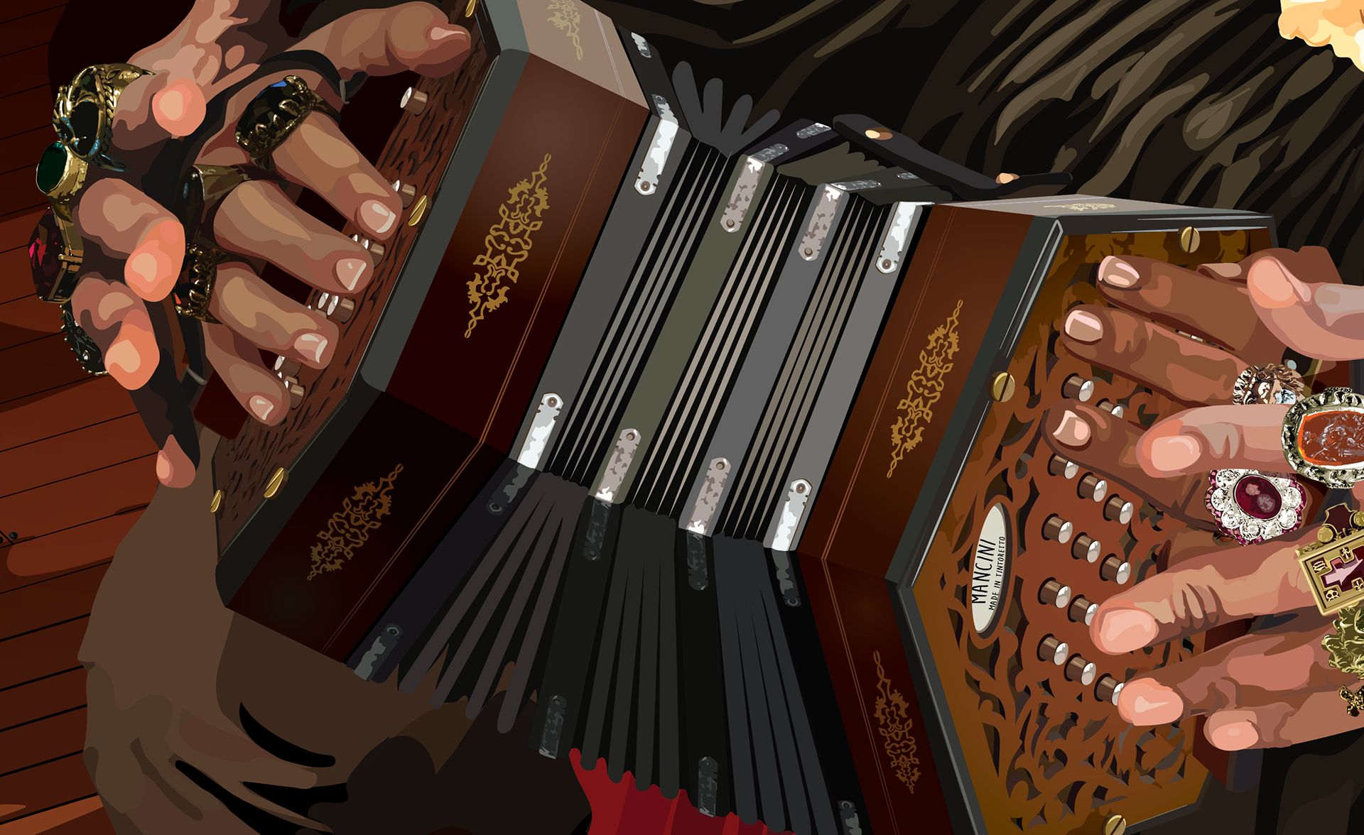 The Concertina Lesson on Behance