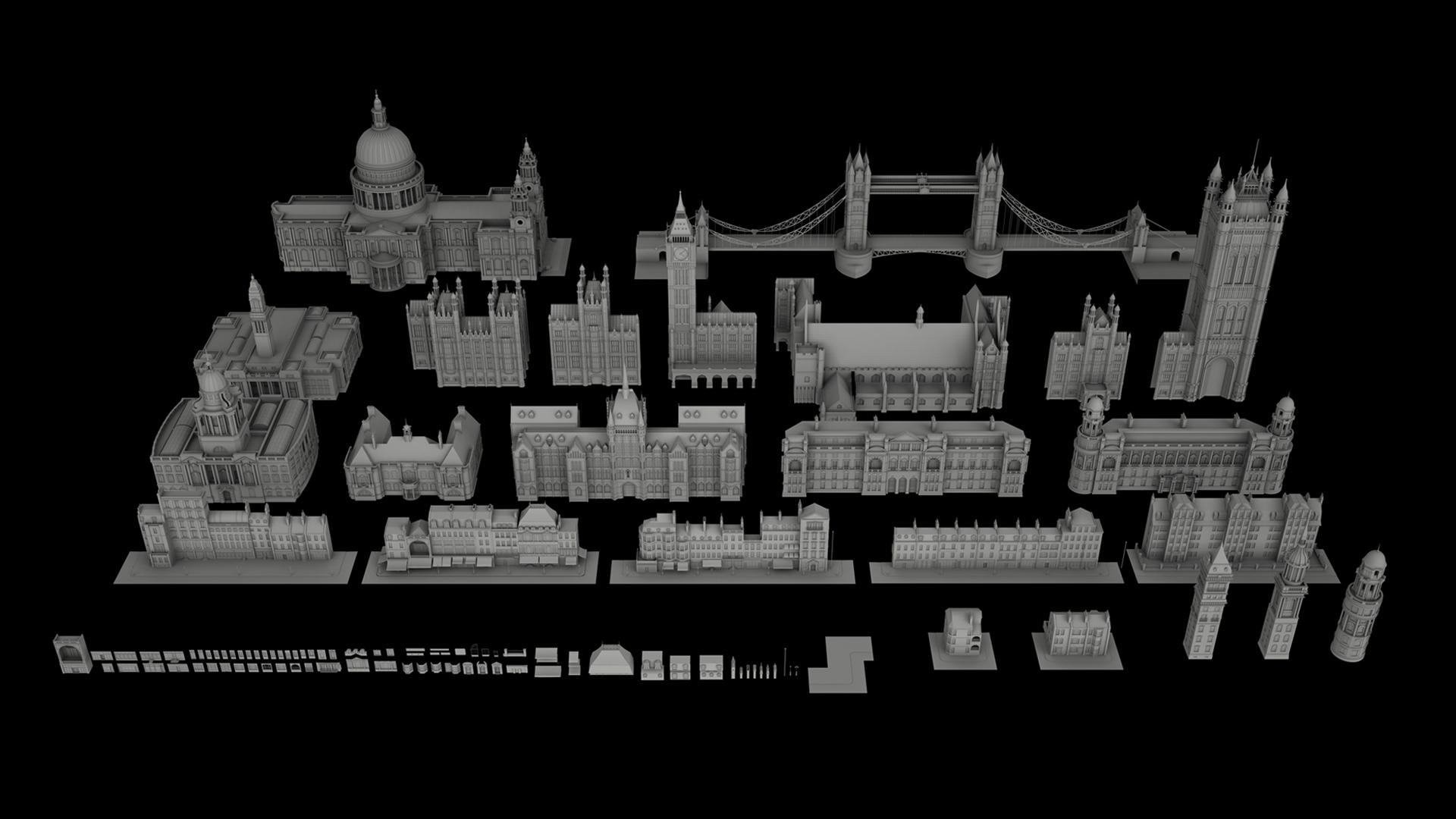 Kitbash3D - Victorian on Behance