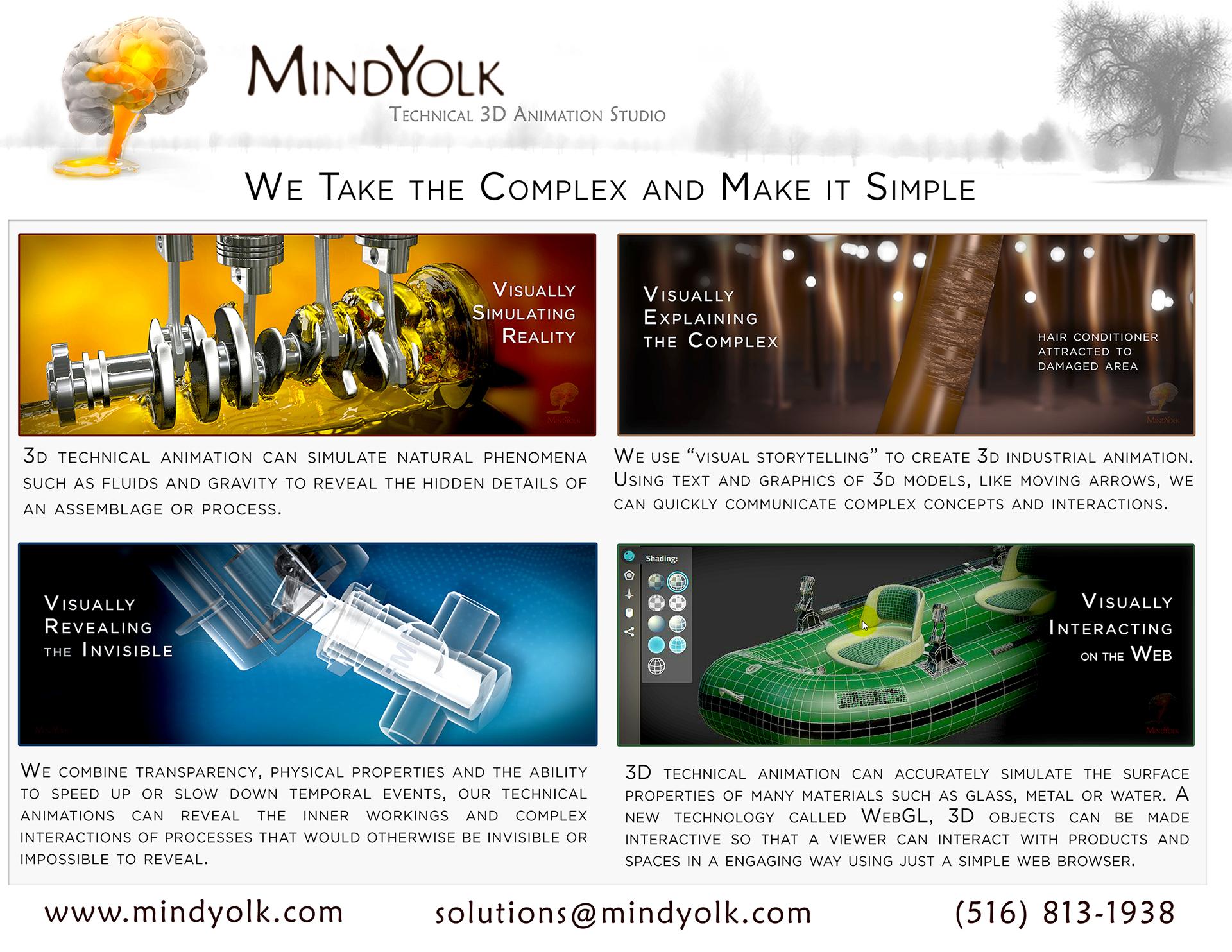 MindYolk Technical 3D Animation Studio on Behance