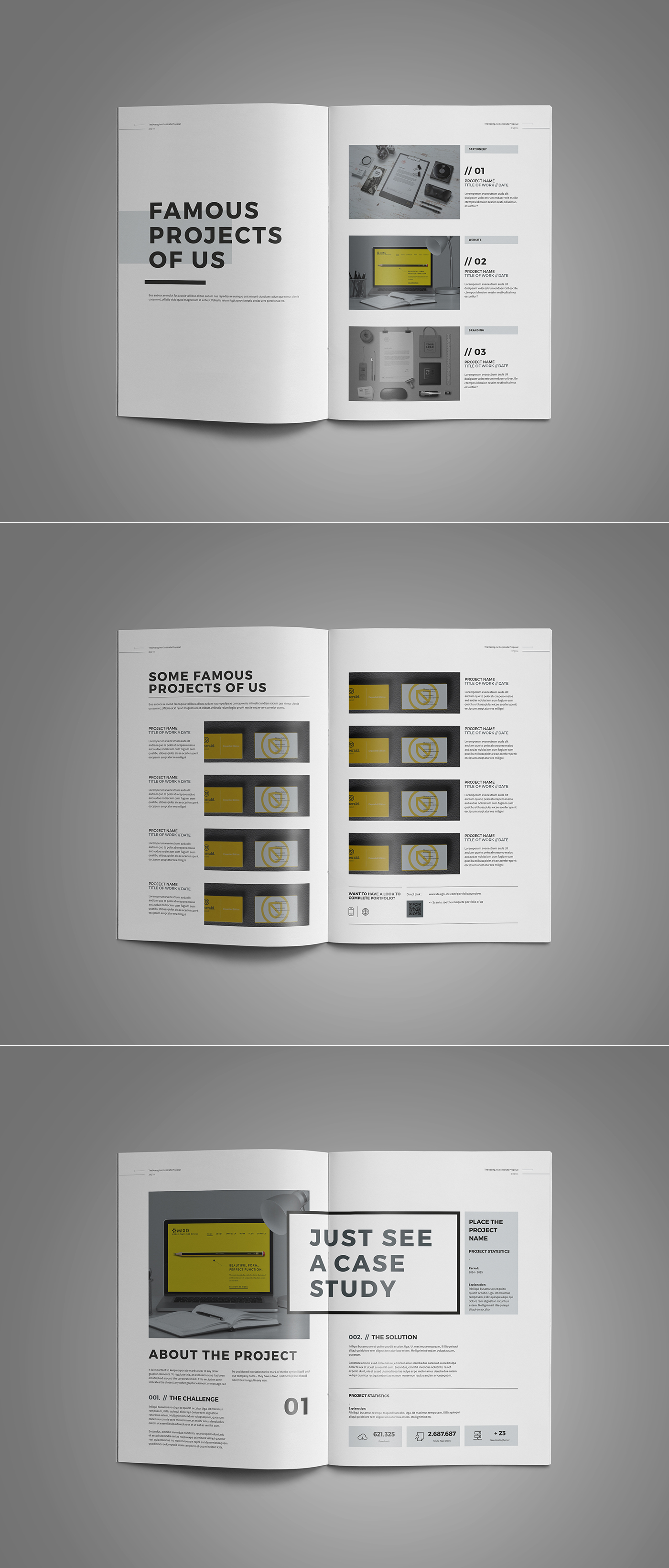 Proposal design on behance accmission Gallery