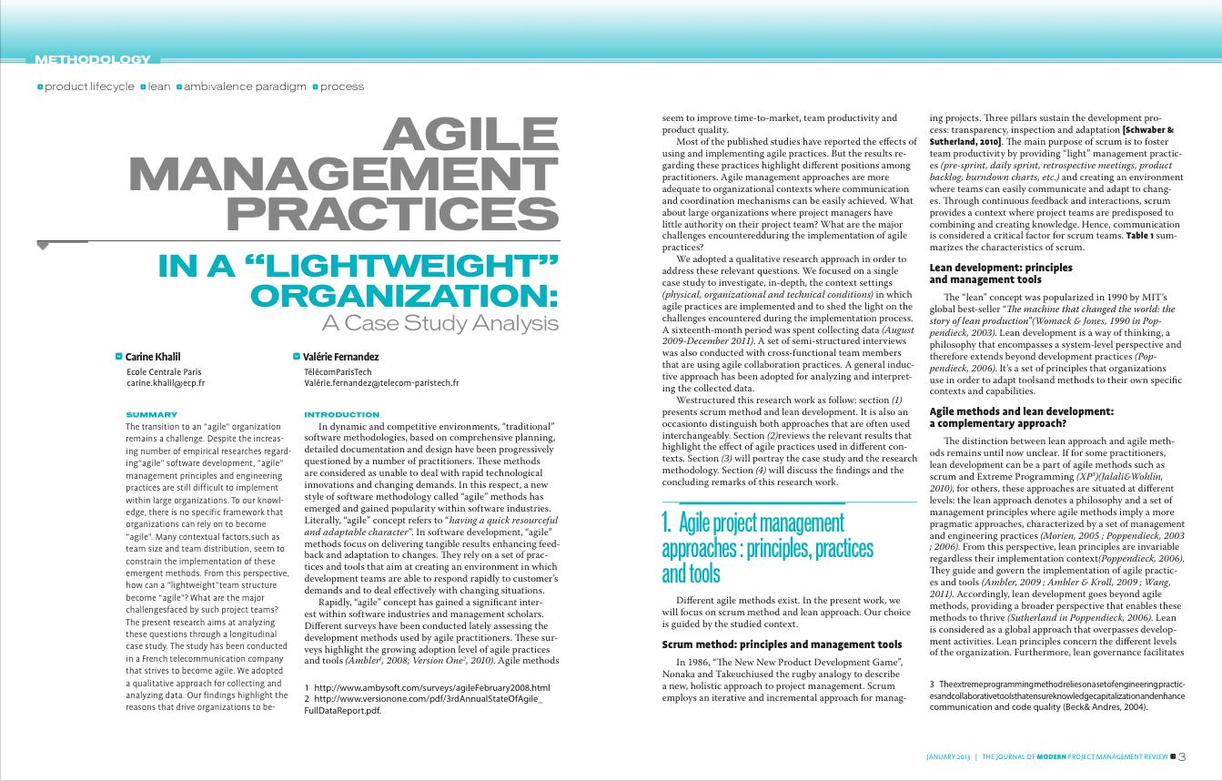 Editorial Design – Journal of Modern Project Management on Behance