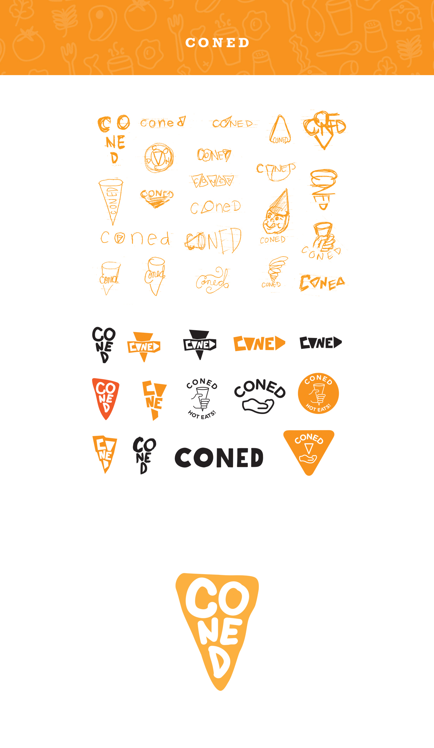 Coned on Behance