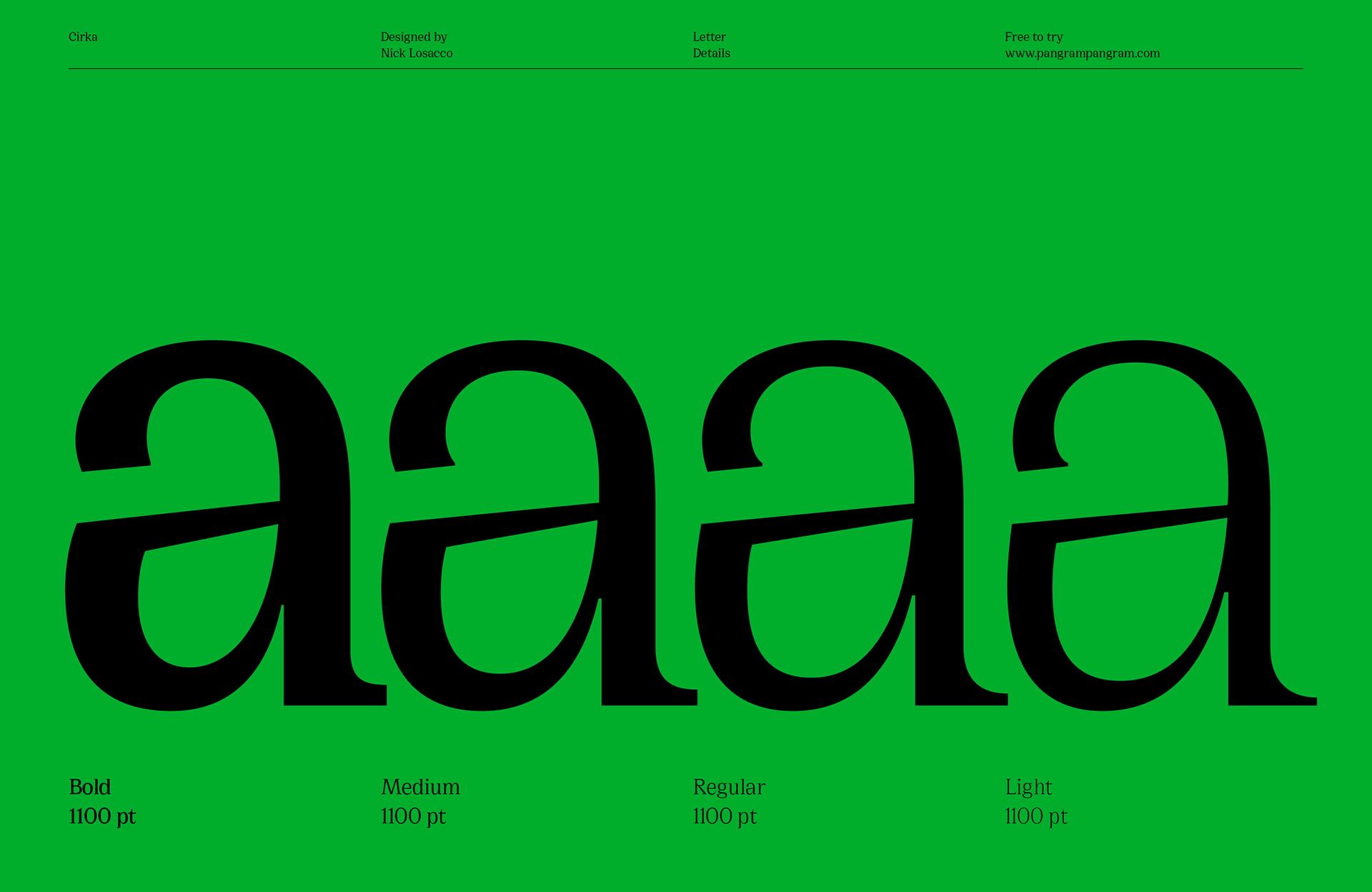 Cirka Free Typeface on Behance