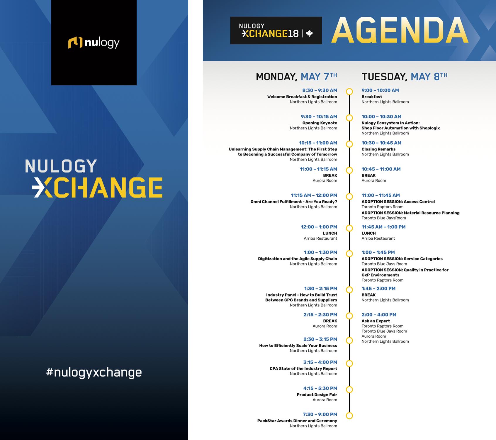 Nulogy Xchange Conference on Behance