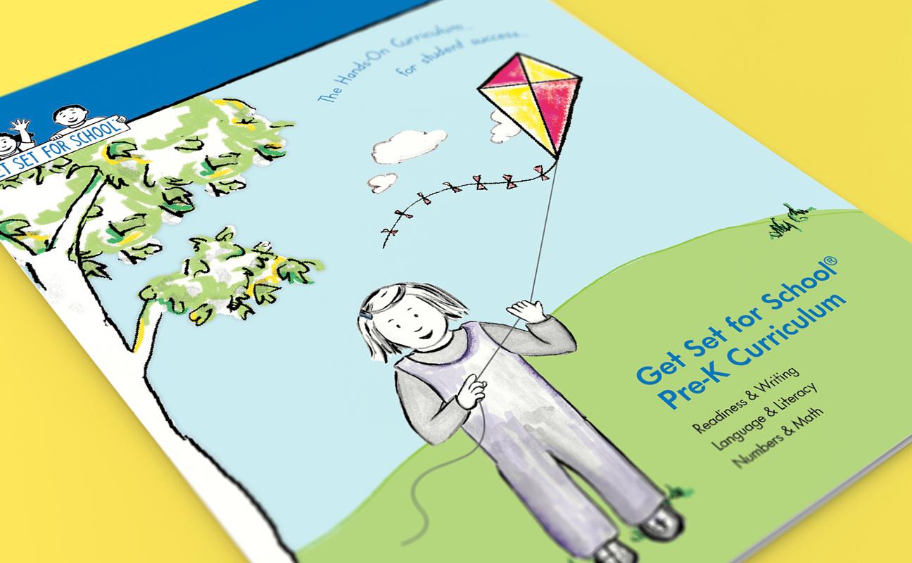 Get Set for School Pre-K Curriculum Folder on Behance