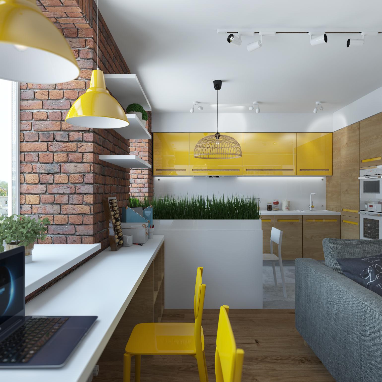 бюджетные дизайны квартир картинки