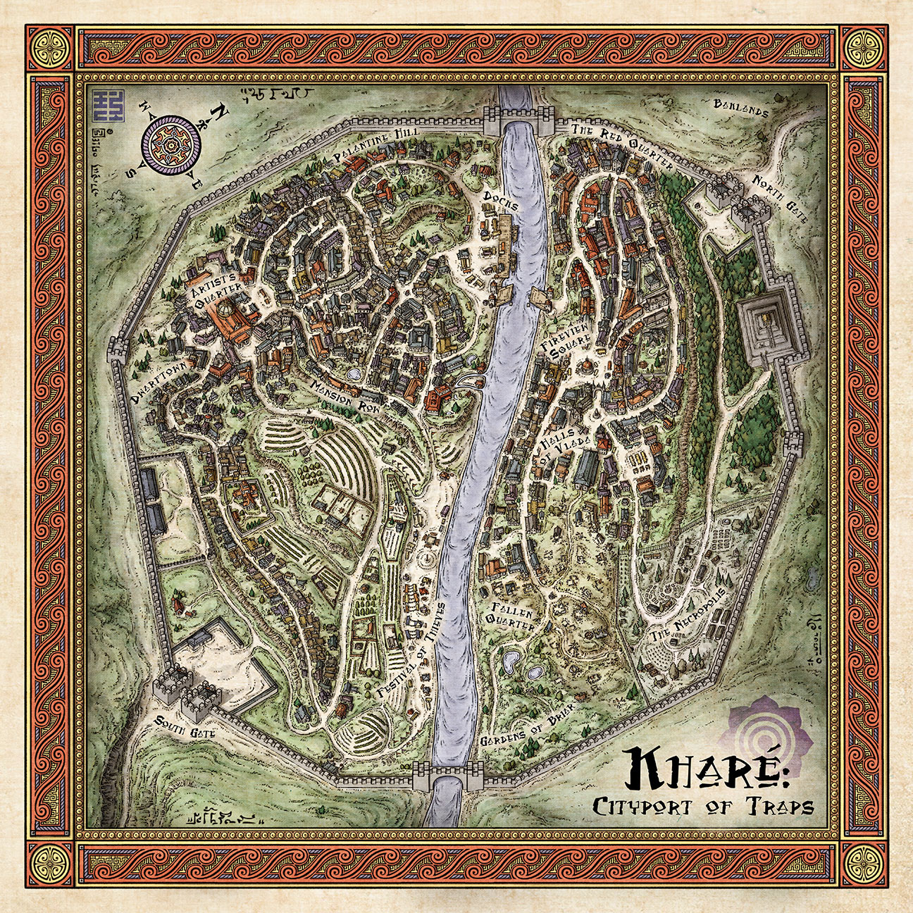 Map of Khare