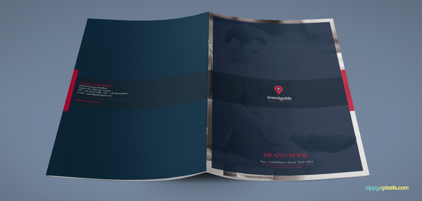 click here to download this beautiful free brand book template
