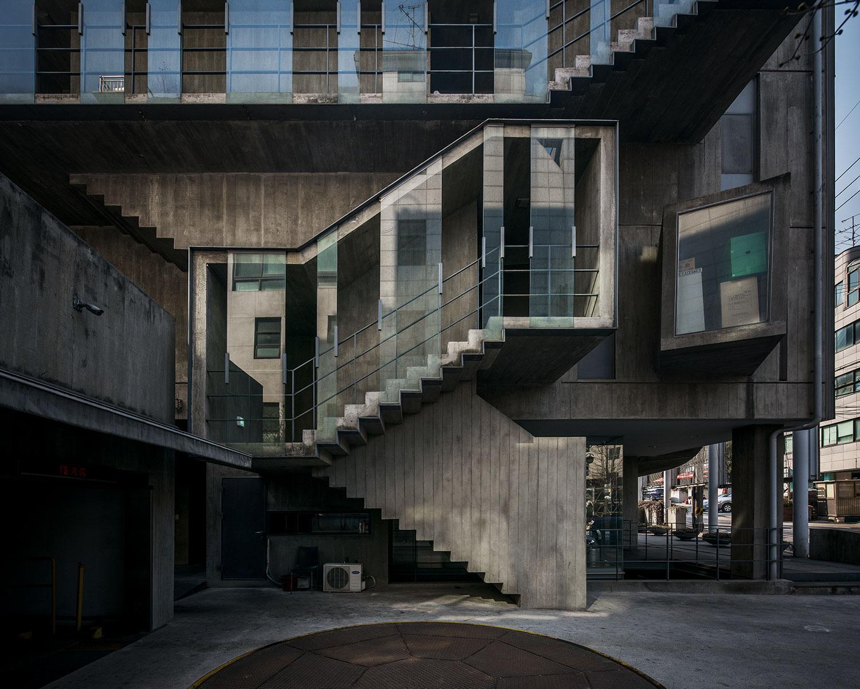 Architecture seoul brutalist revival for Architecture brutaliste