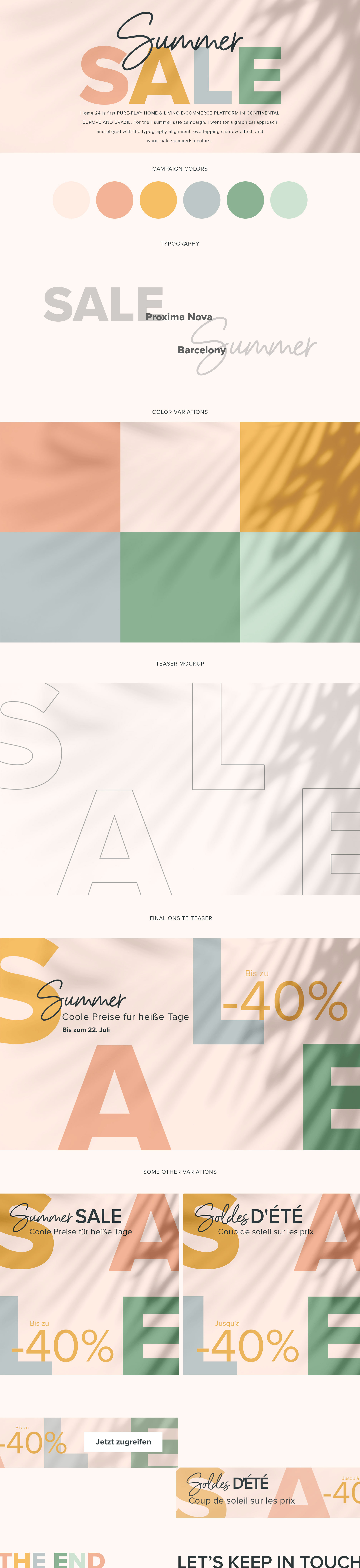 Summer Sale Campaign On Behance